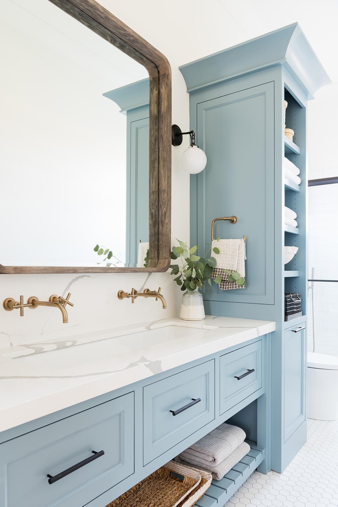 Bathroom Vanity Cabinet Color Trends For 2020 Hunker