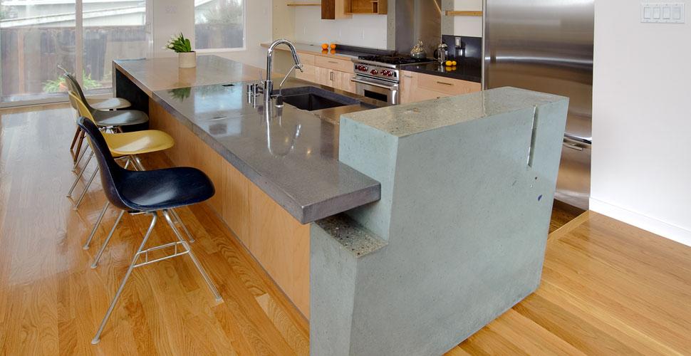 Diy Concrete Kitchen Countertop Ideas Hunker