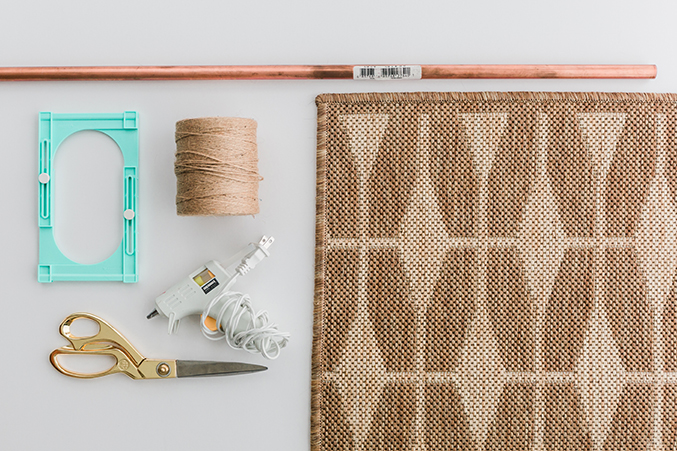 OK, We'll Tell You: Here's How We Turned an Entryway Rug Into Wall Art | Hunker