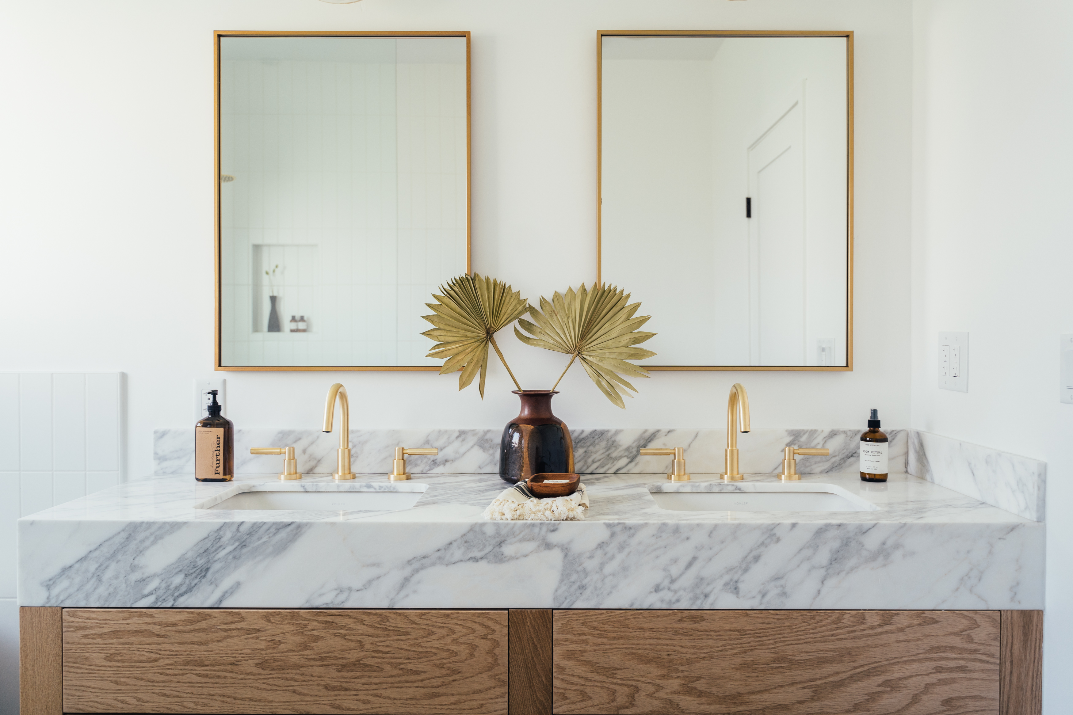 Diy Bathroom Vanity Makeover Hunker