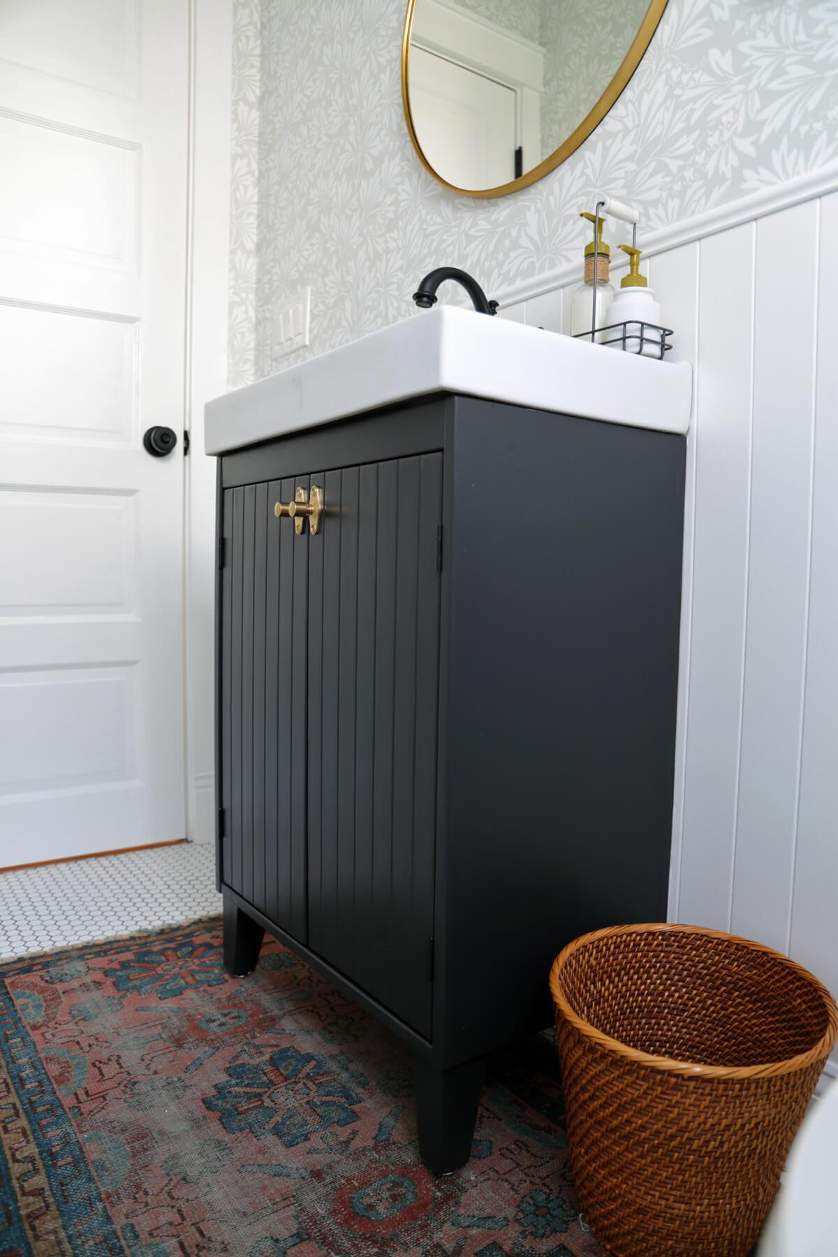 11 Bathrooms Featuring Brilliant Ikea Hacks Hunker
