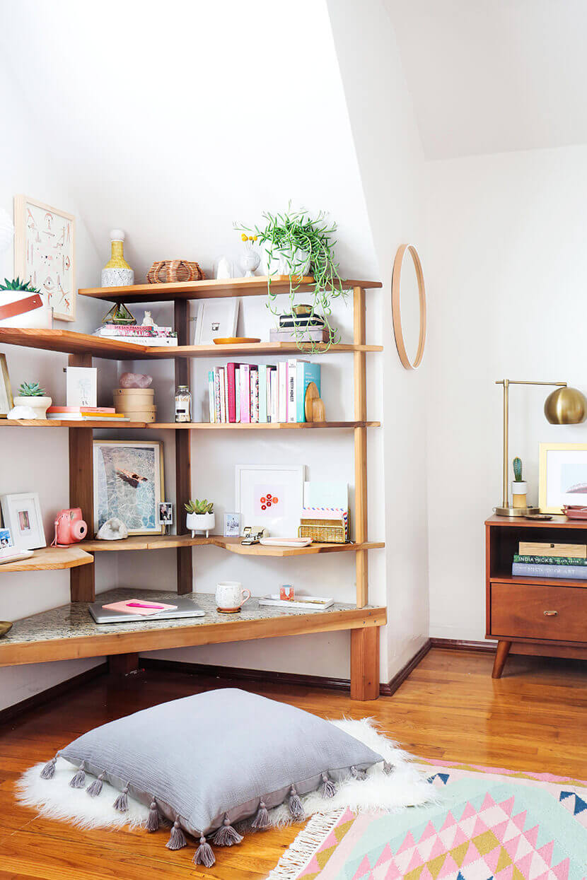 Finally, 7 Bedroom Shelving Ideas That Are Just as Unique as ...