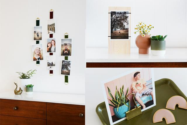 5 Genius DIYs to Display Photos Without Frames   Hunker
