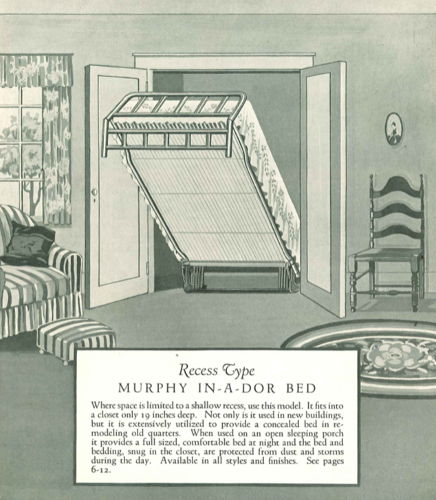 Who Invented The Bed >> Flipboard The Murphy Bed Was Invented By A Man Who Just