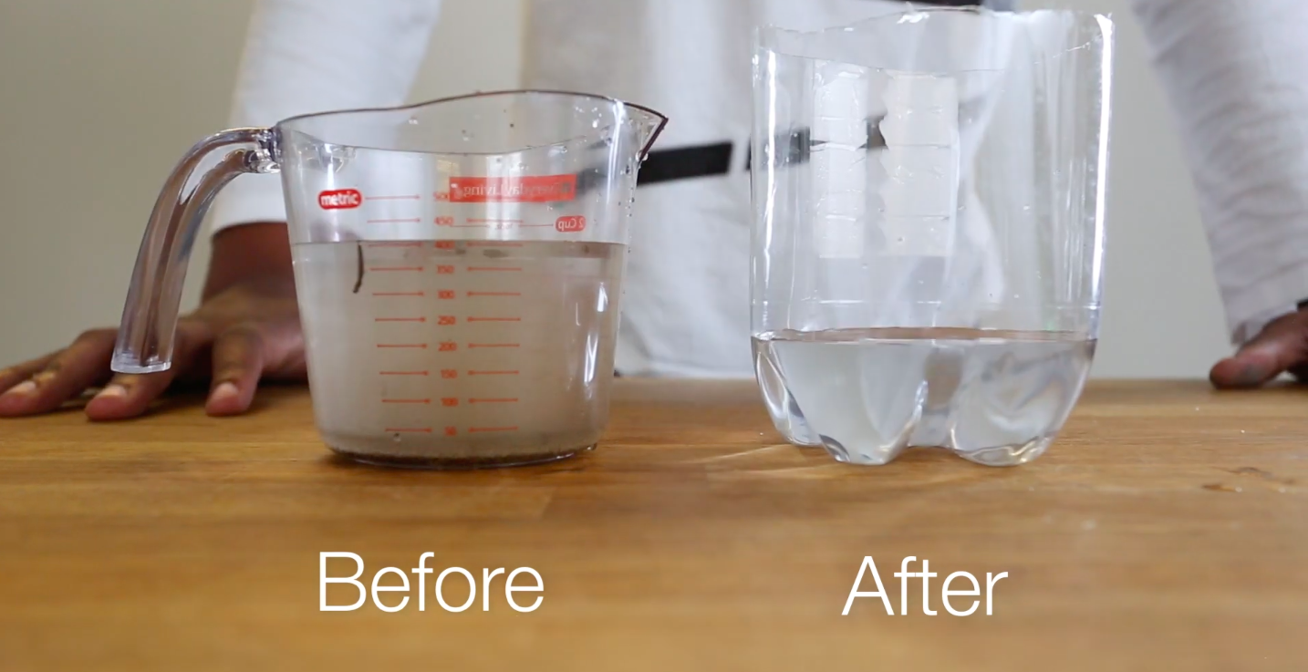 How to Make a Water Filter as a Science Experiment