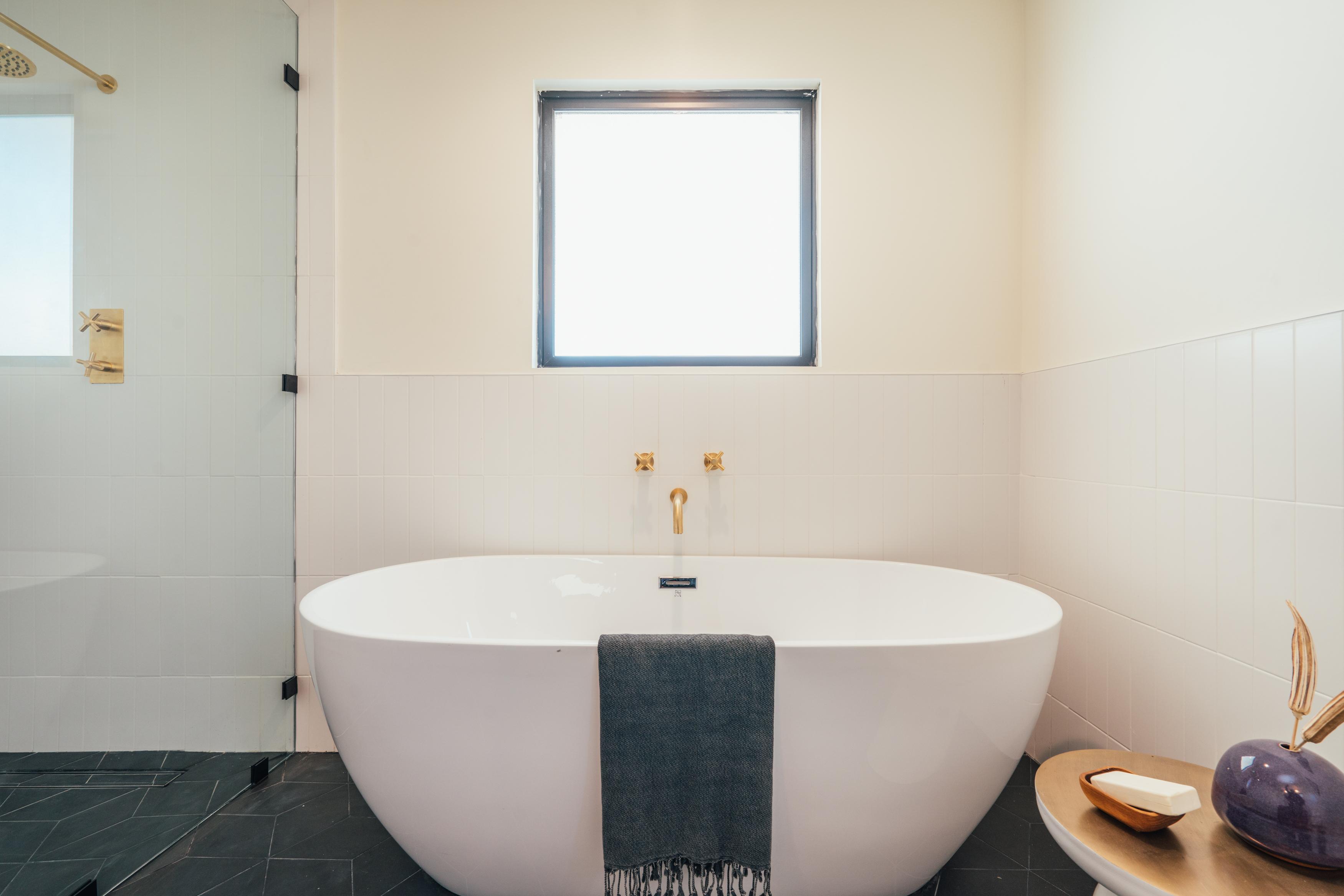 freestanding tub installation a diy