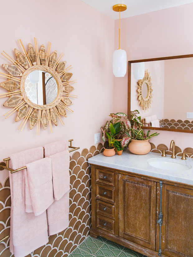6 Bohemian Bathroom Lighting Ideas To Get You Singing In The Shower Hunker