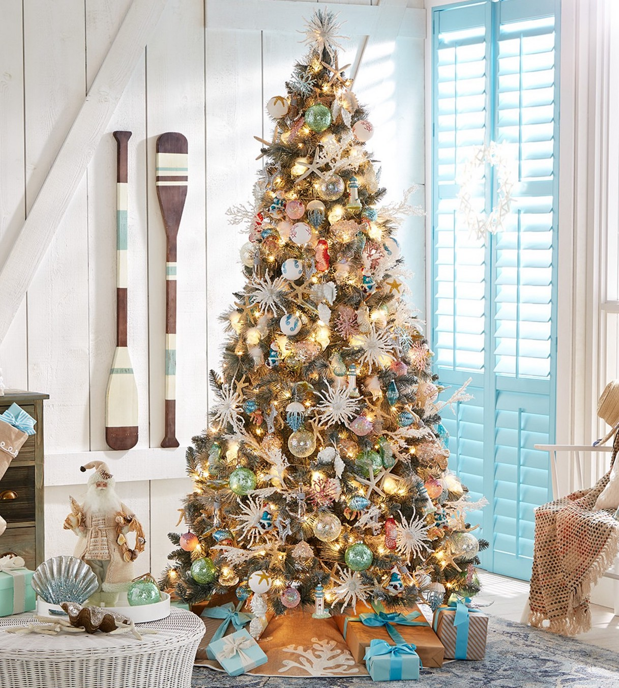 Coastal Christmas Tree Ideas And Inspiration Hunker