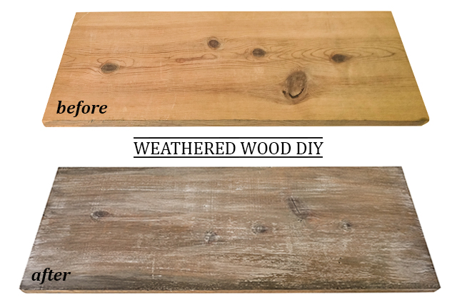 How To Make New Wood Look Weathered And Reclaimed Farmhouse