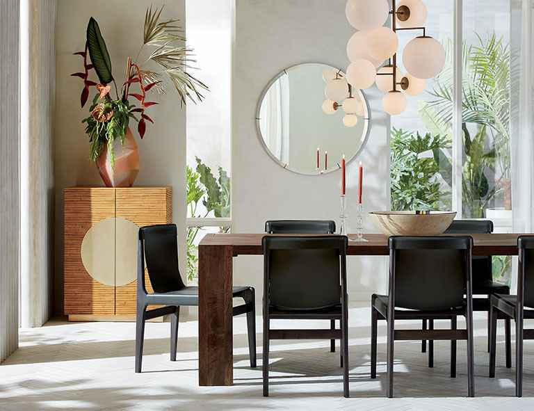 Miraculous 7 Dining Room Furniture Ideas Perfect For Storage Hunker Caraccident5 Cool Chair Designs And Ideas Caraccident5Info