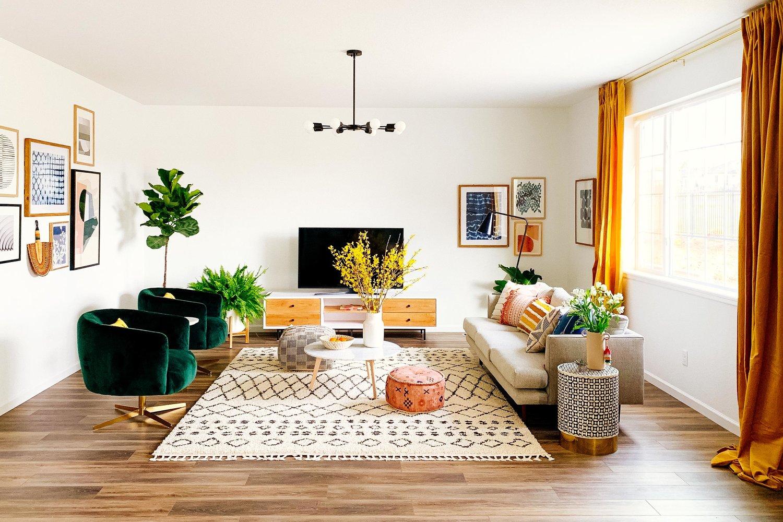 Bohemian Style Living Room Lighting Ideas Inspiration And Shopping Hunker