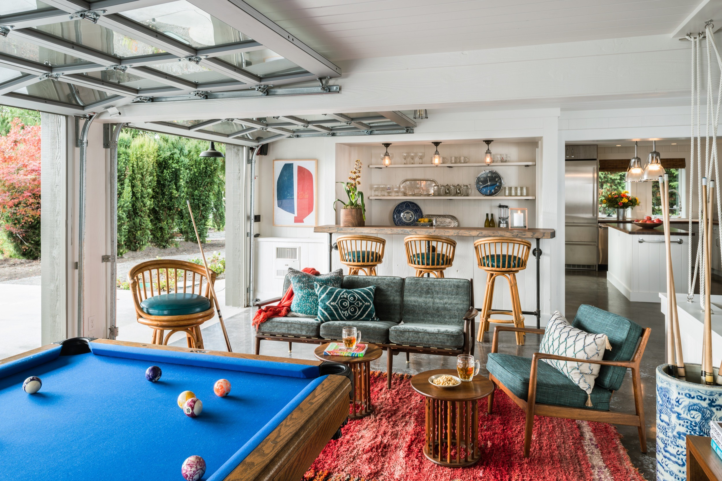 Garage Game Room Ideas And Inspiration Hunker