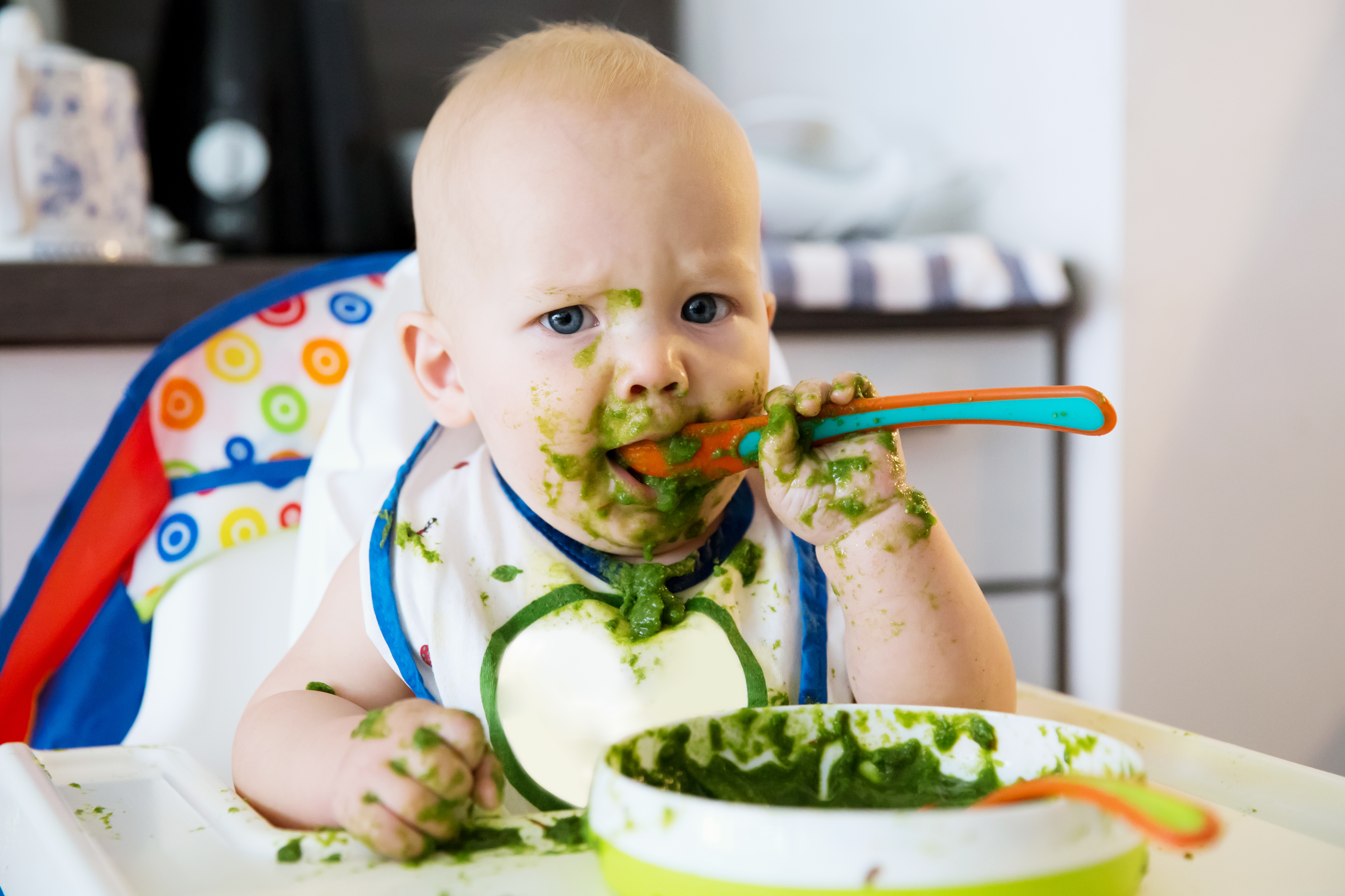 When Can Babies Eat Spinach? | Mom Life