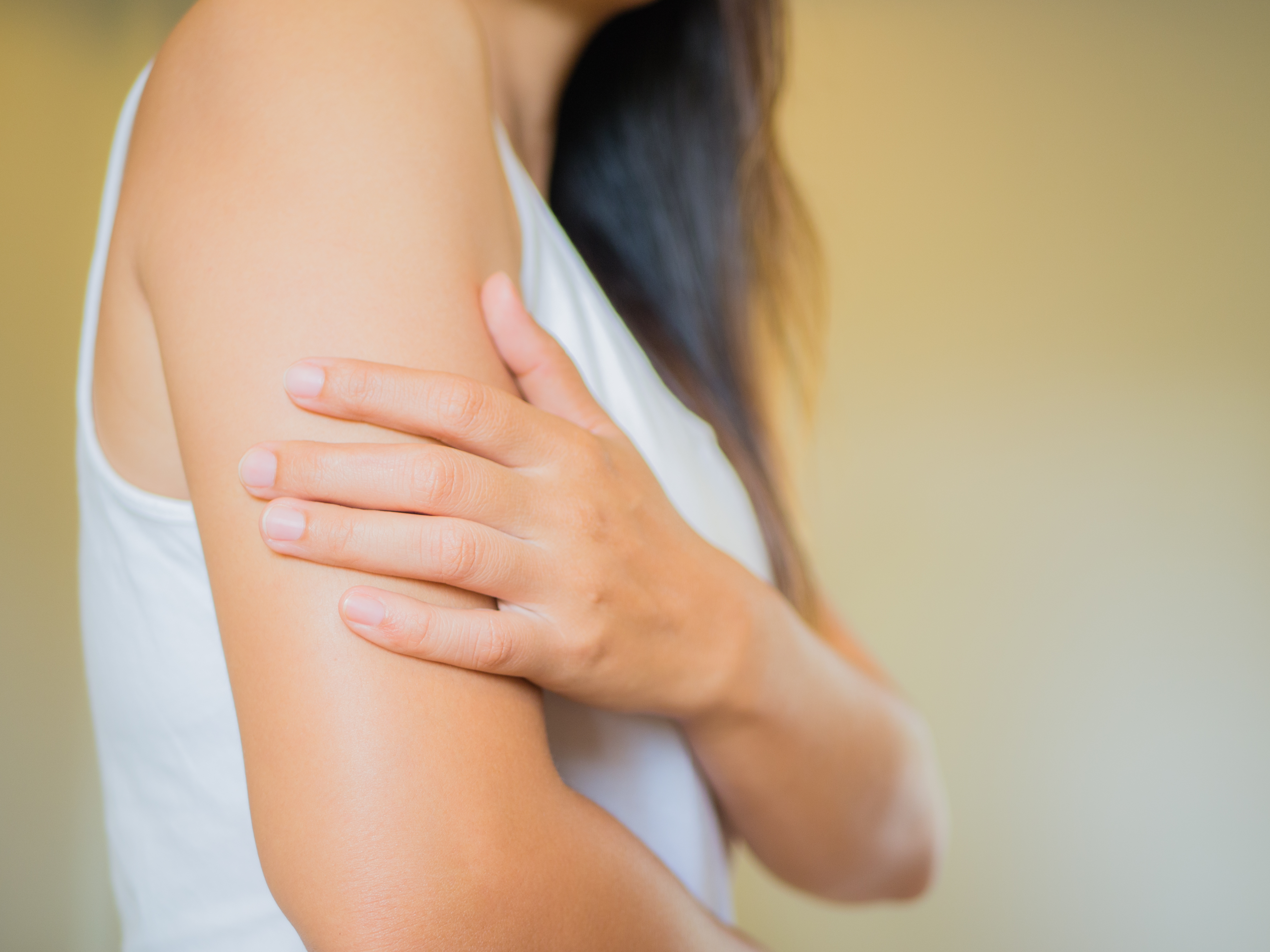 Acne on the arms above the elbow: how to get rid of it