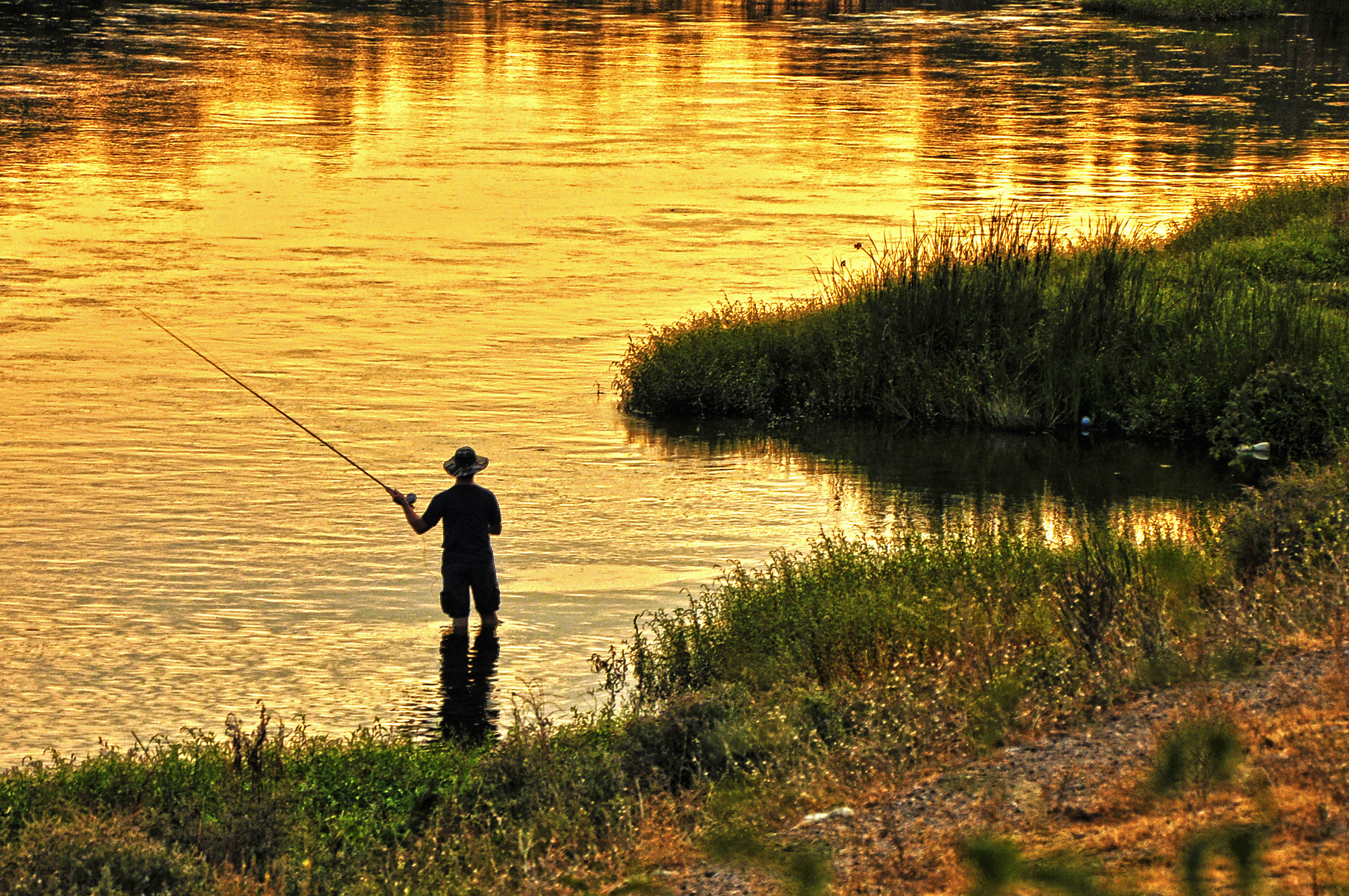 Fishing on the St  Croix River   USA Today