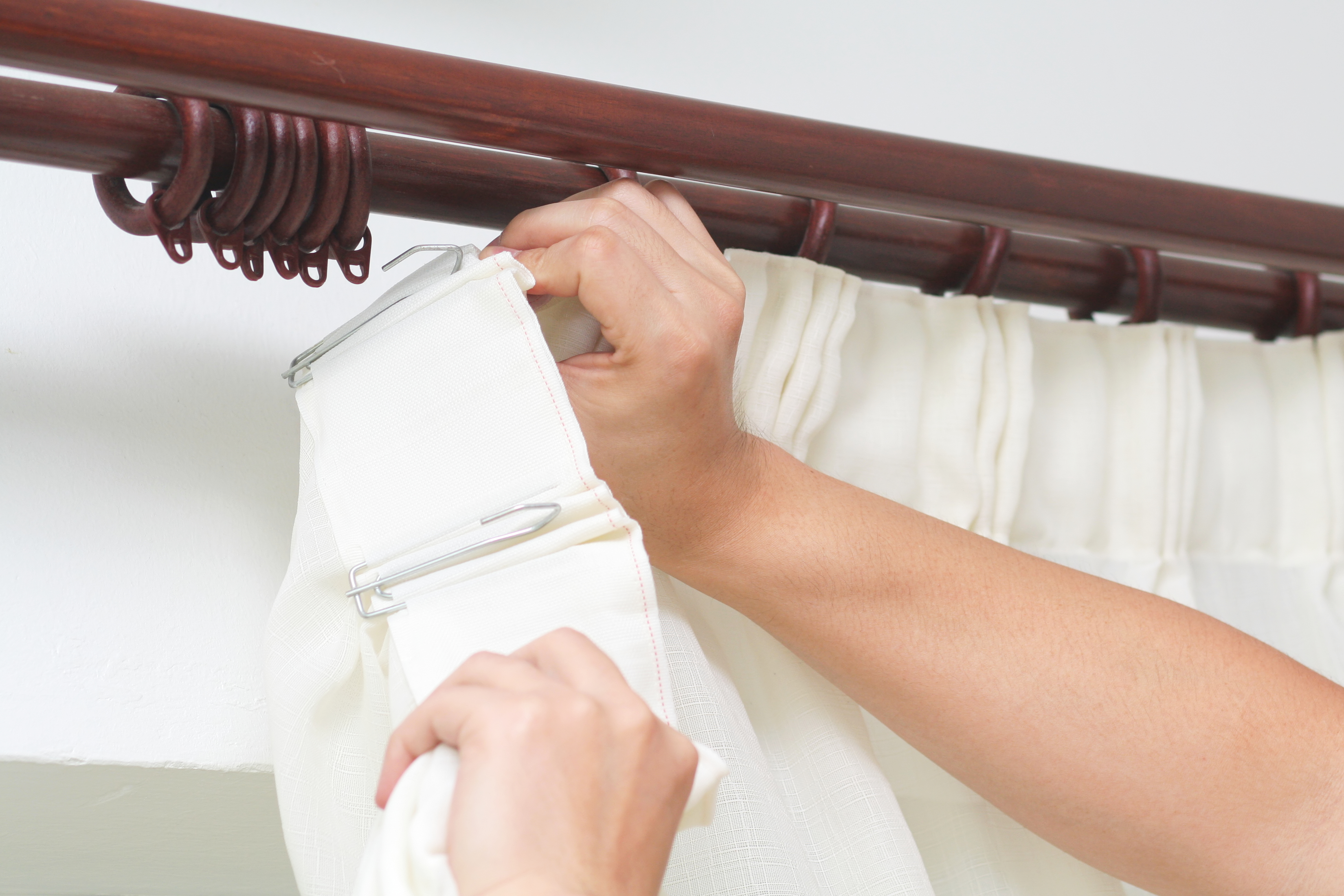 How To Choose The Curtain Rod Diameter Size For A Grommet Home