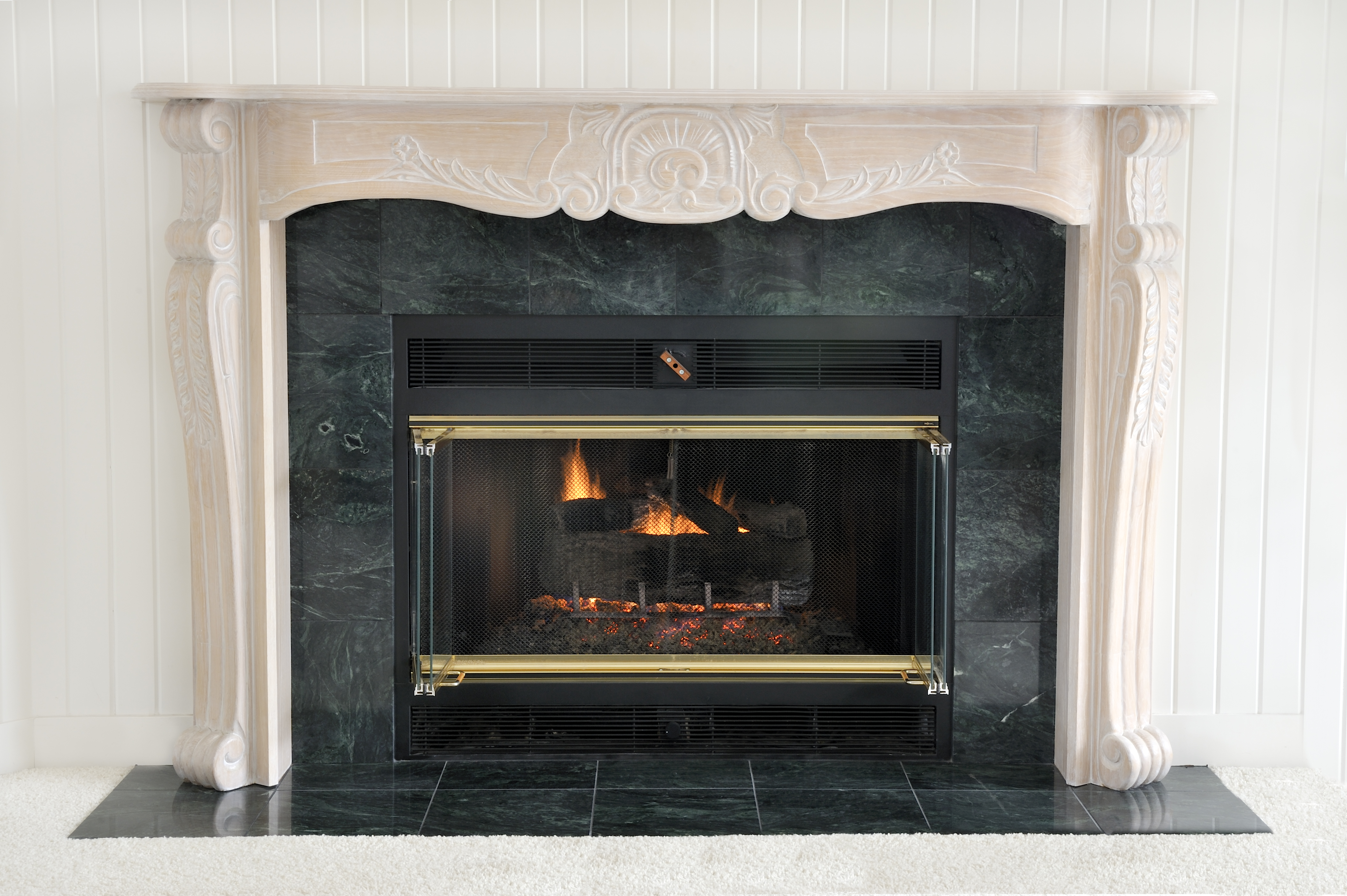 How to Tile Over a Marble Fireplace | Hunker