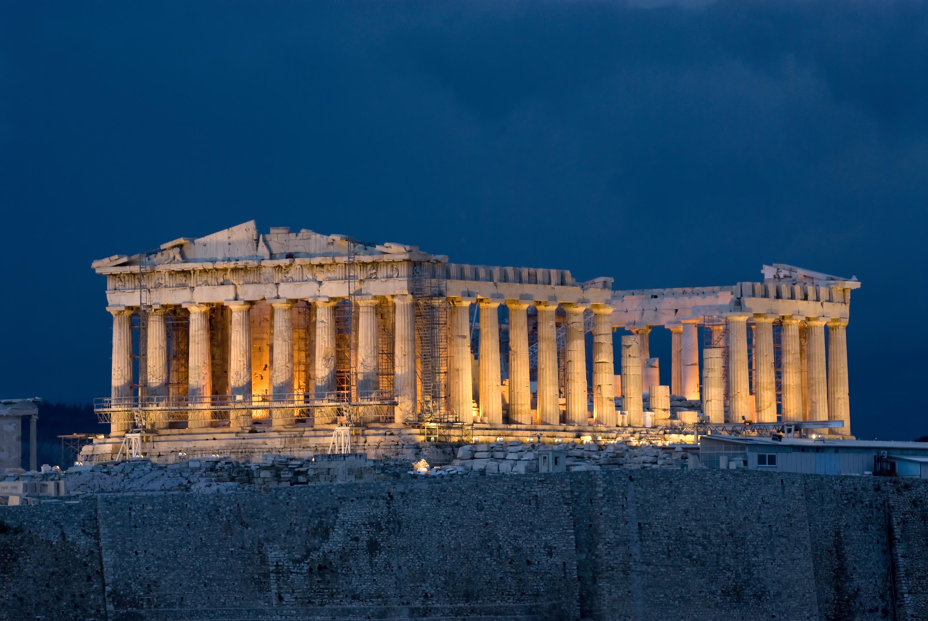 Facts On Greece Art