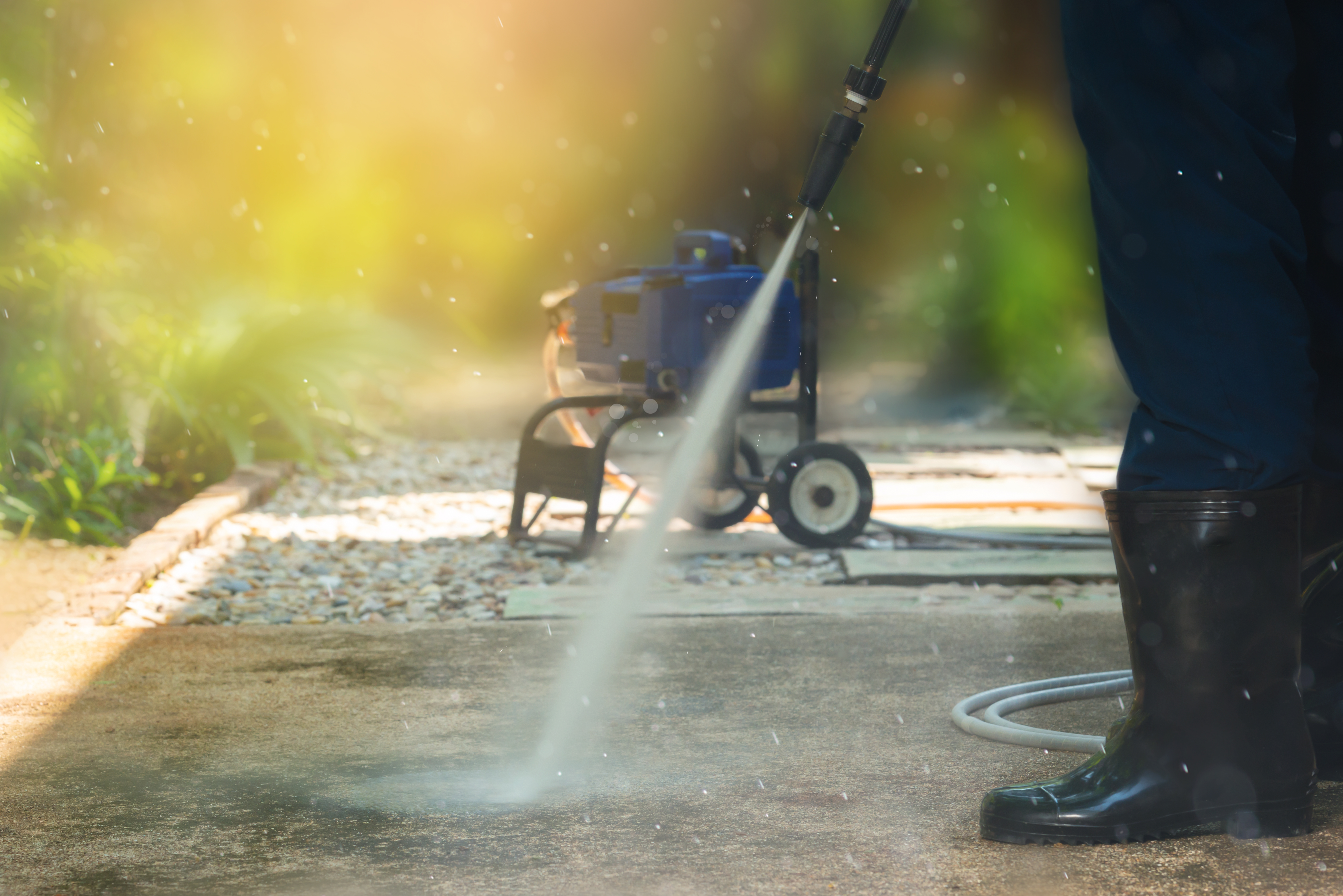 Do You Need to Use a Power Washer Before Staining a Deck