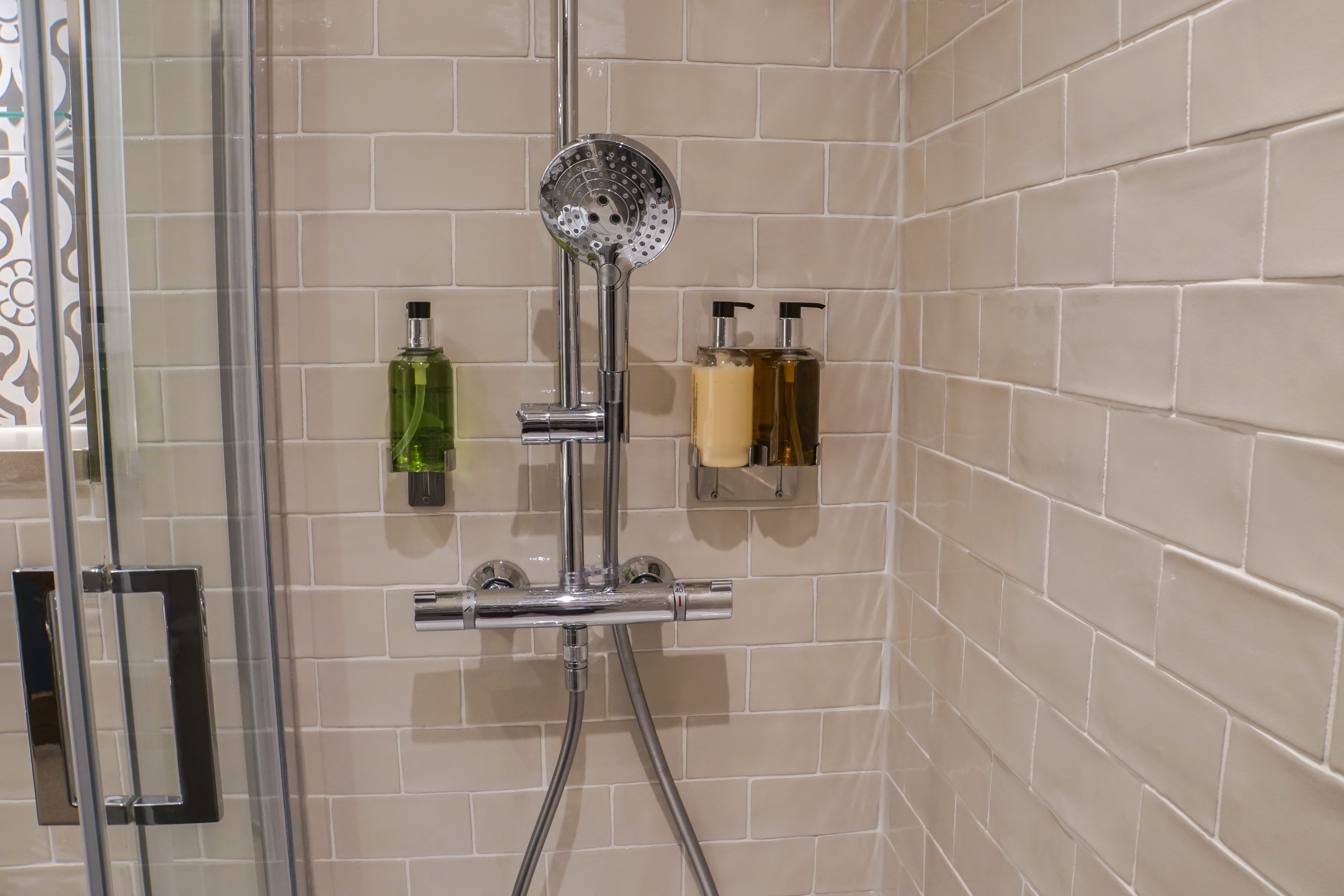 How to Cover Ugly Shower Tile | Home Guides | SF Gate Tile Wall Bathroom Shower Design Ideas Html on bathroom shower wall tile installation, bathroom floor tile design ideas, bathroom vanity tile design ideas,