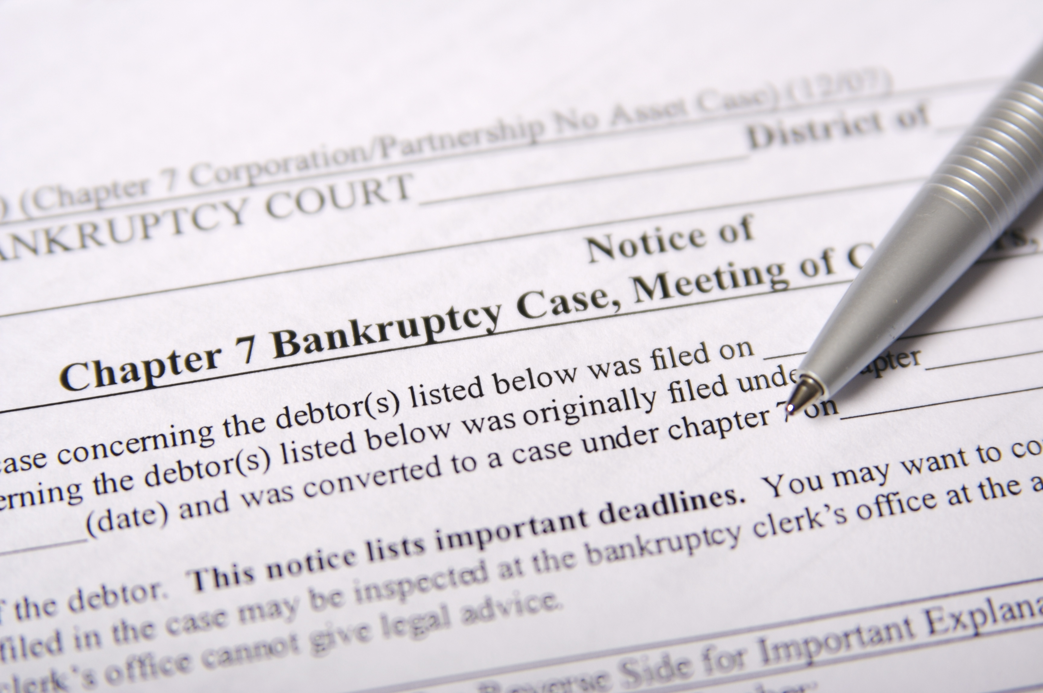 how to cancel a bankruptcy after it's been filed - budgeting money