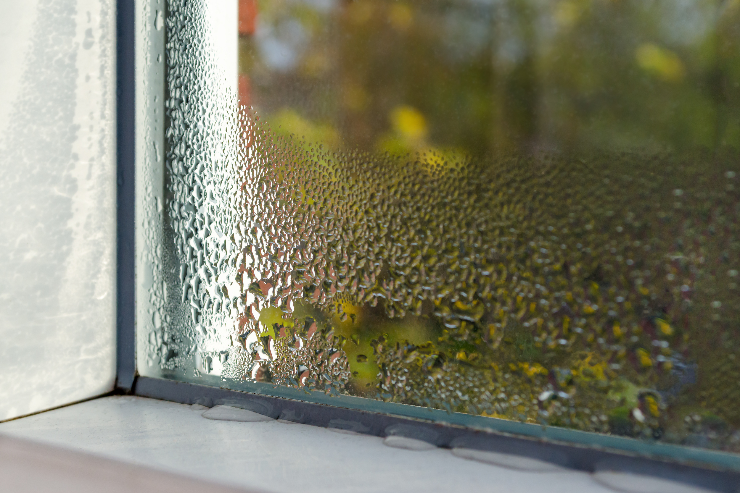 What is condensation, how does it occur in nature and what does it lead to