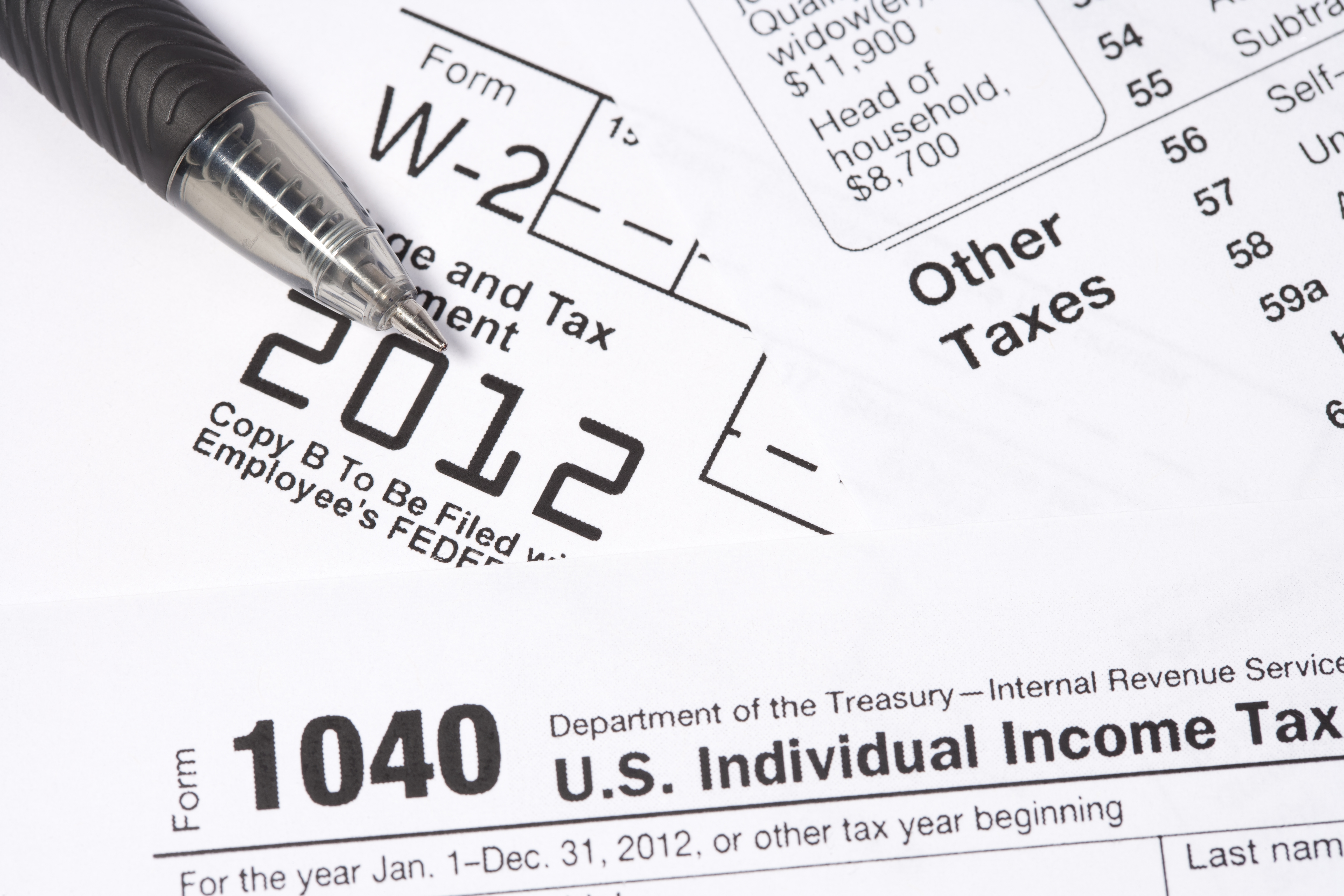 My Federal Withheld on My W-2 Is Blank | Career Trend