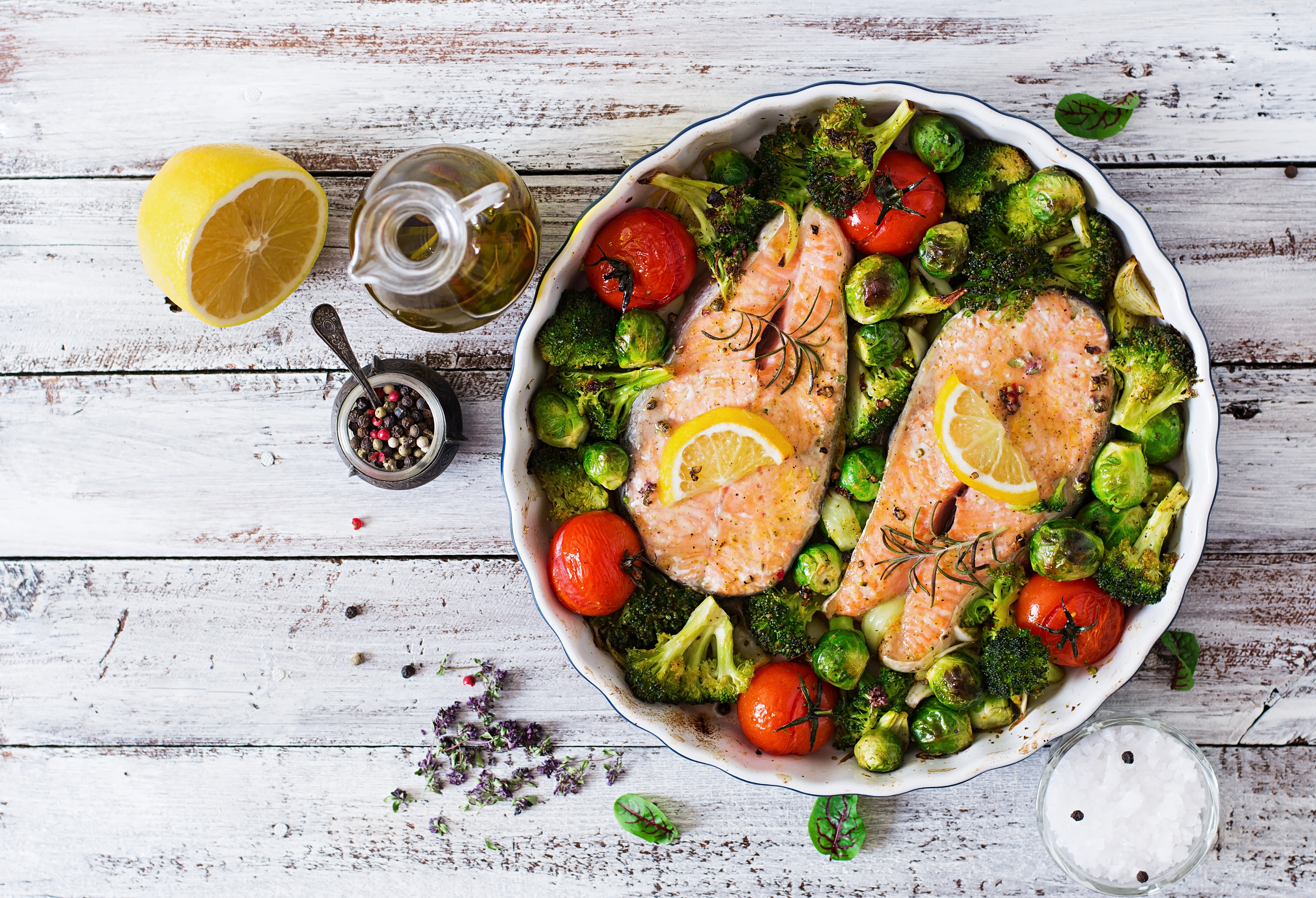 How Much Protein Is In One Serving Of Salmon Healthy Eating Sf Gate