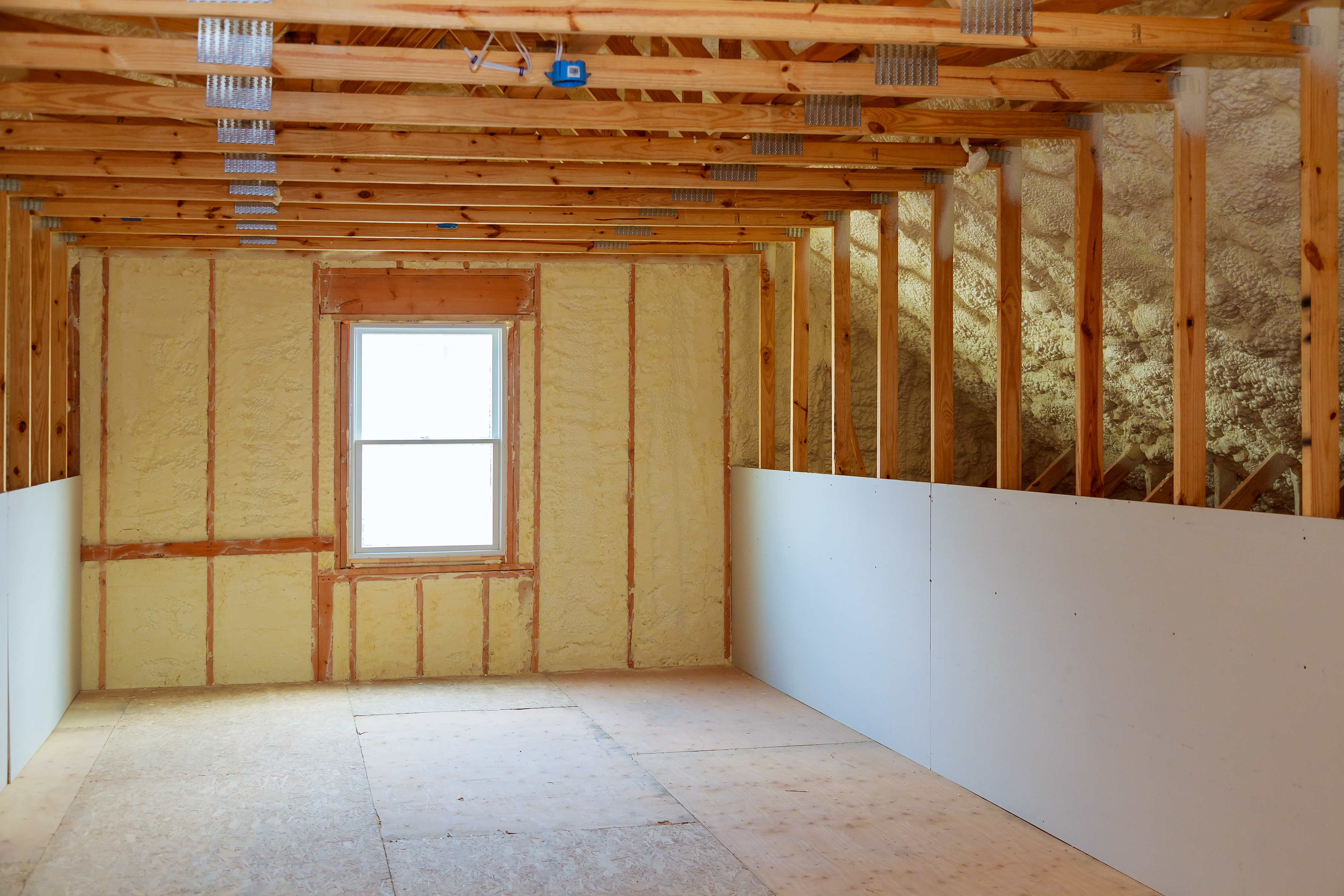 How To Paint Foam Insulation