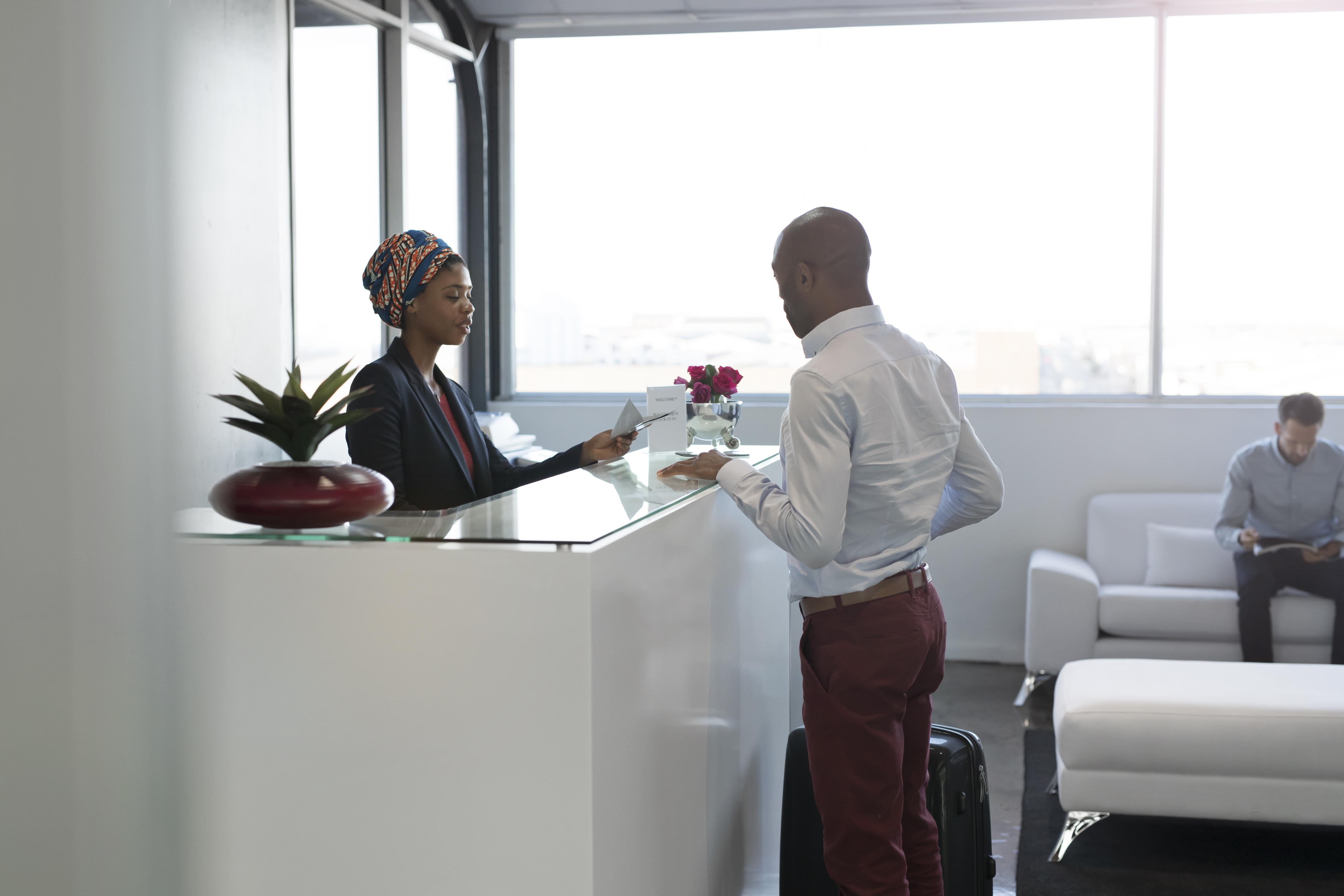 Etiquette of a Front Office Receptionist   Chron com
