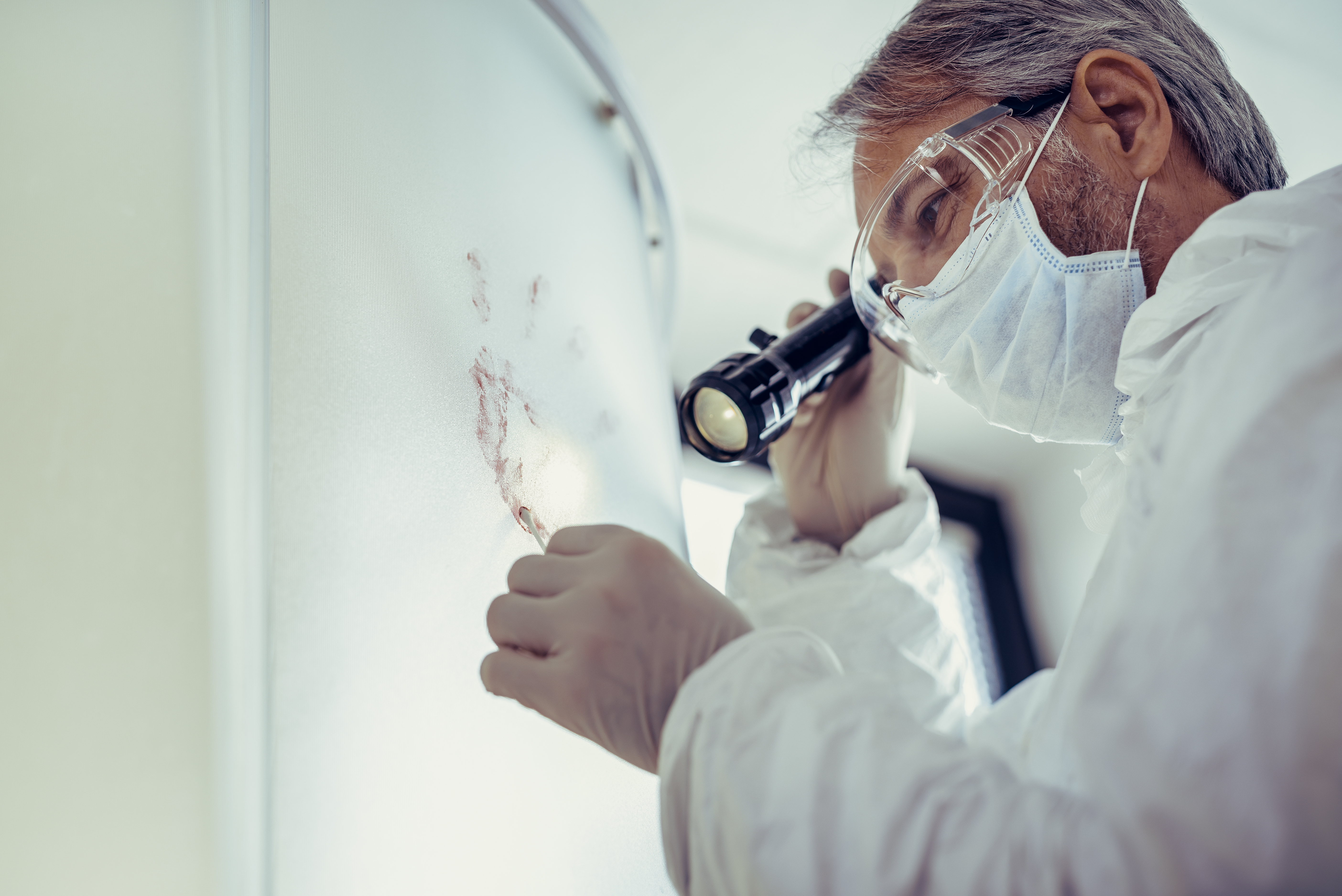which entails specific training in forensic entomology