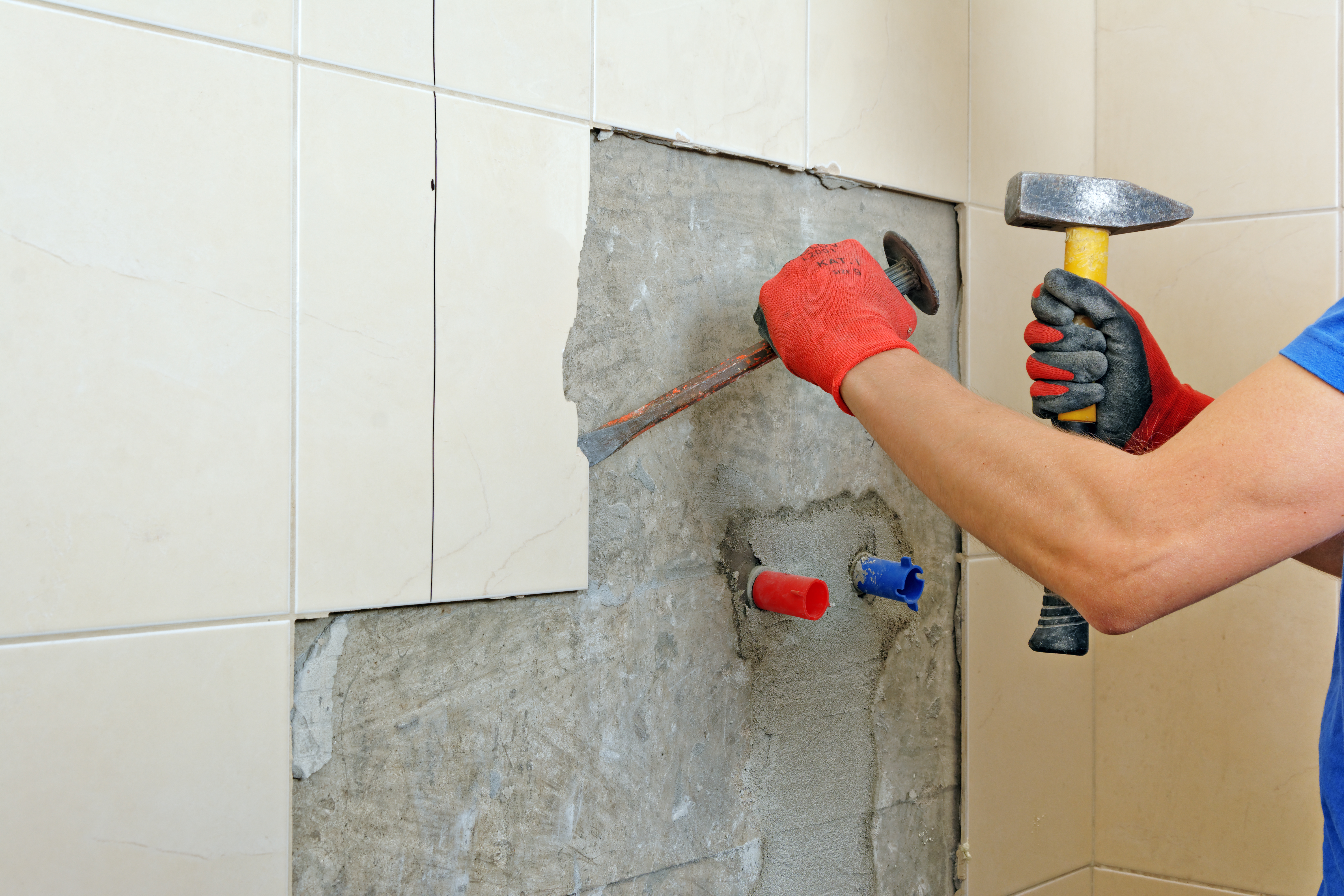 How To Remove Ceramic Wall Tile Without Damaging Drywall