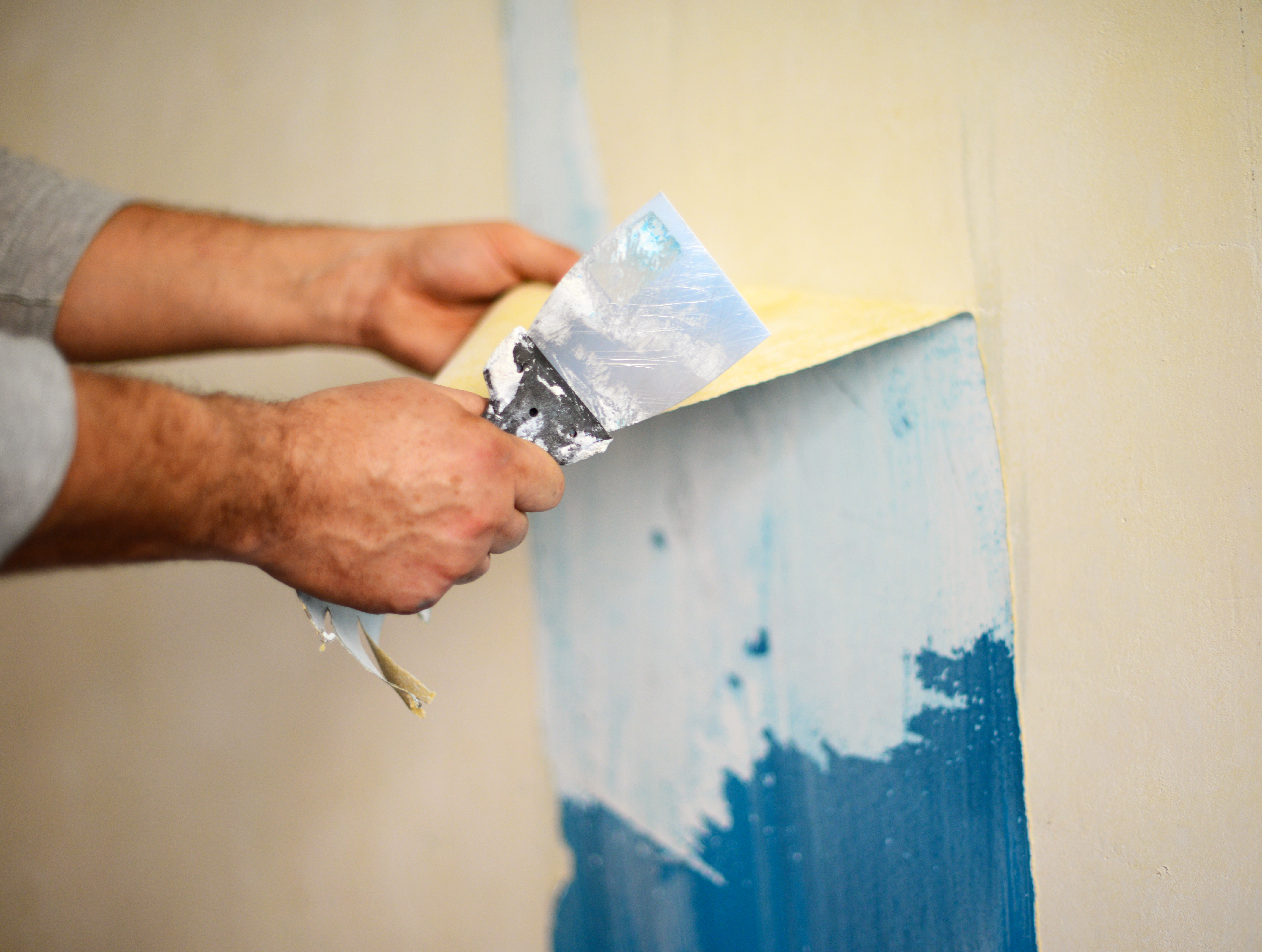 How To Take Acrylic And Latex Paint Off Walls Home Guides