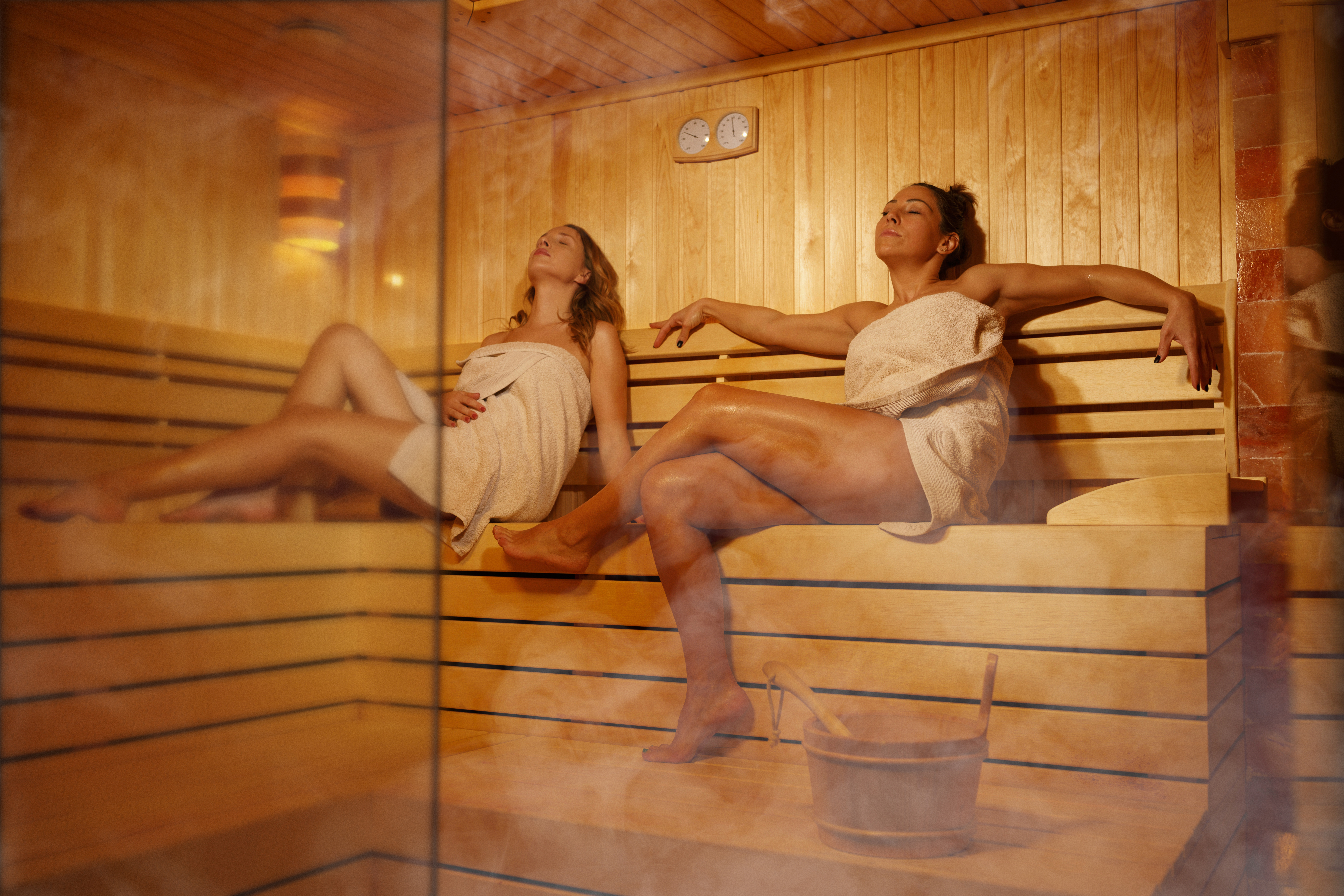 Don t overstay your steam room welcome here s how long and how