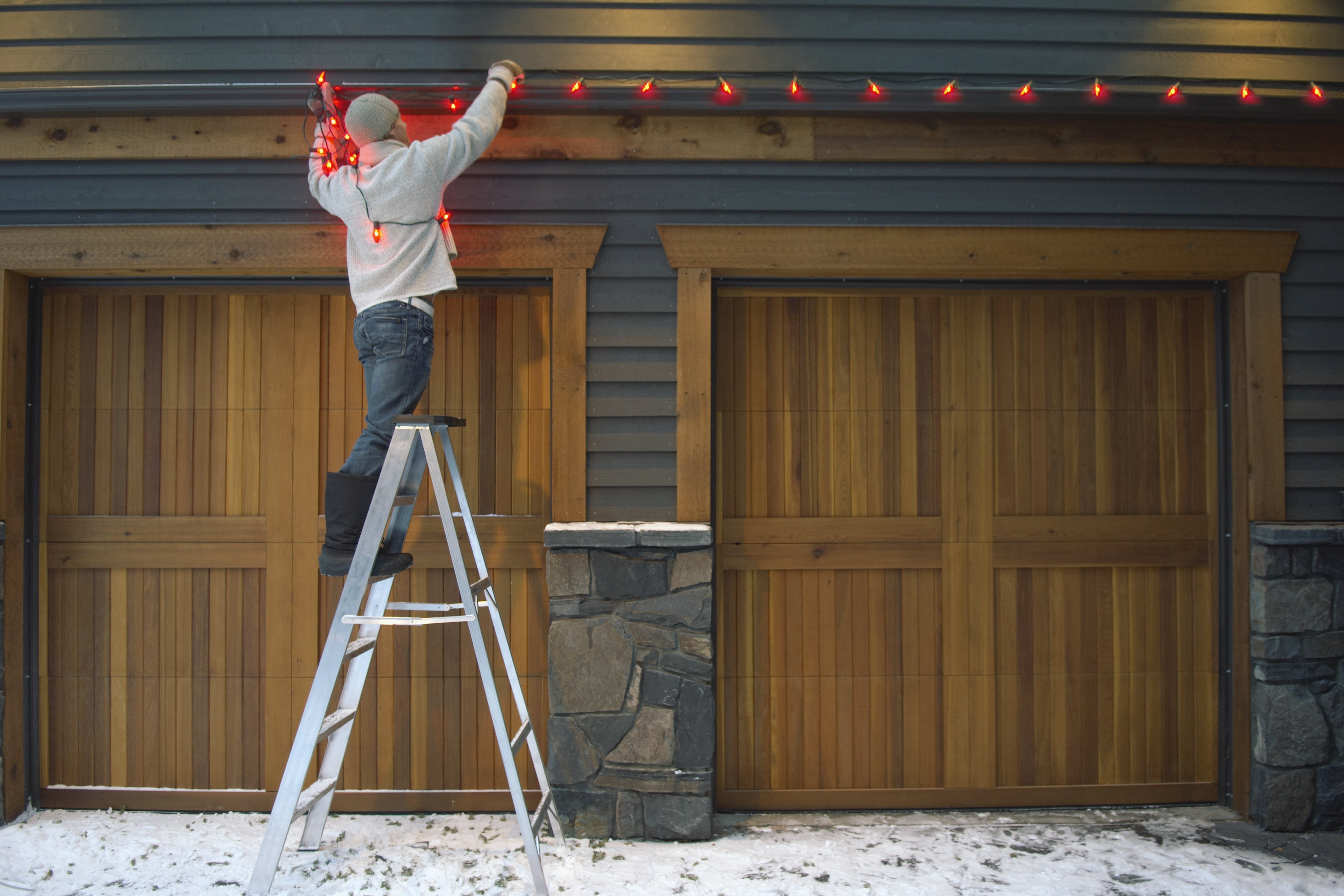 What Can I Use To Attach Christmas Lights To Brick hanging outdoor christmas lights without drilling holes in