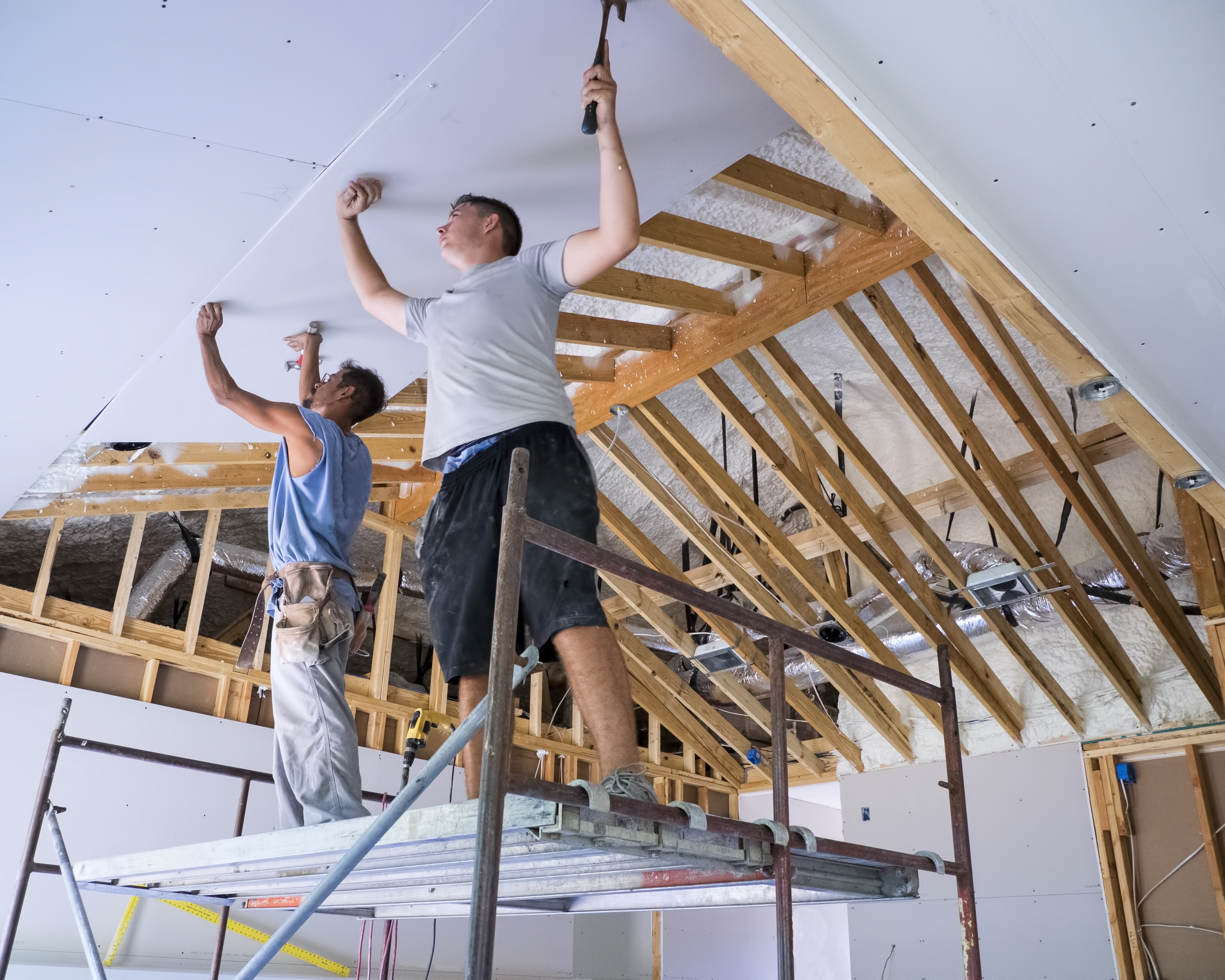 Do You Start Hanging Drywall Flush In The Corner Home Guides Sf Gate