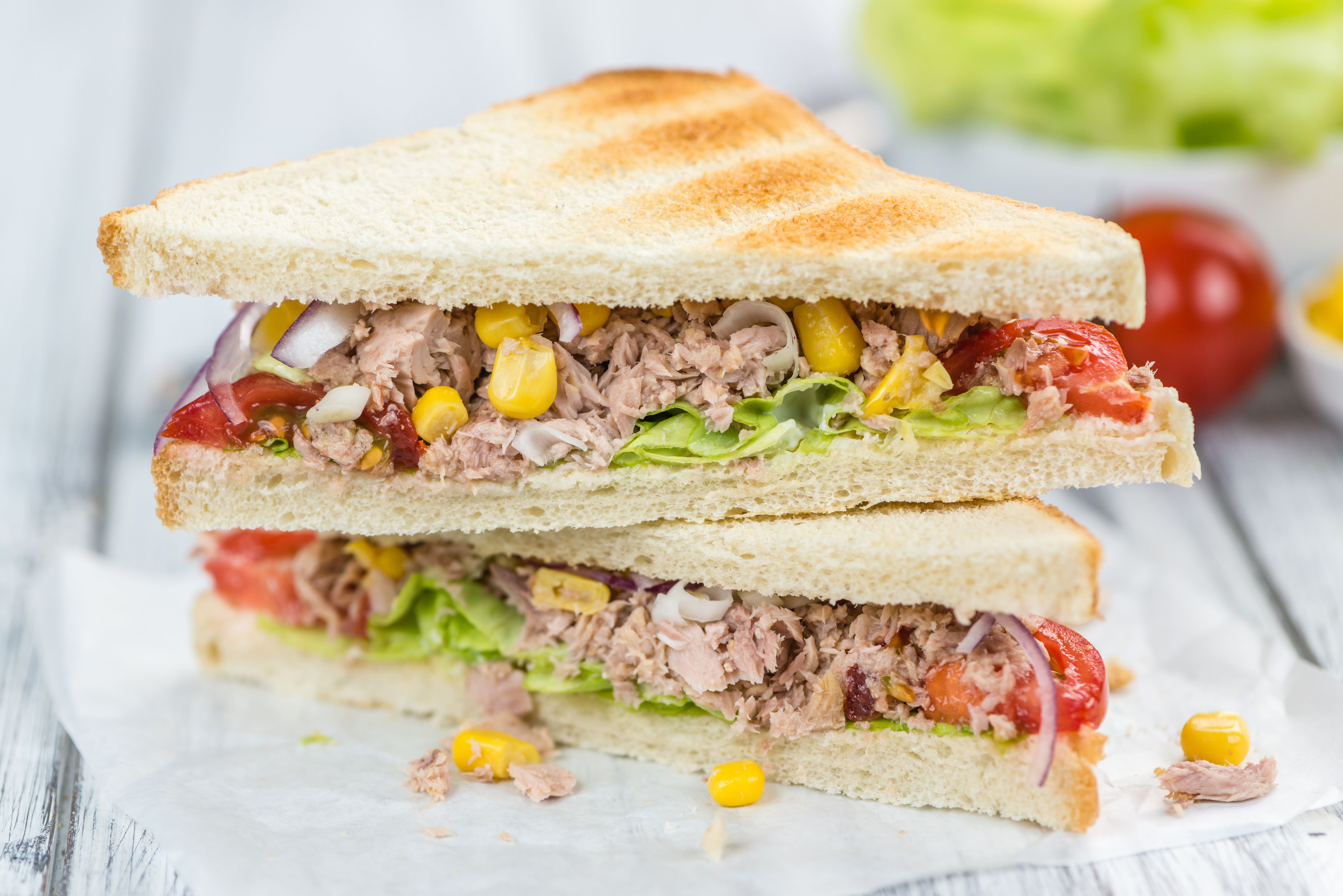 The Healthiest Way To Make A Tuna Sandwich Healthy Eating