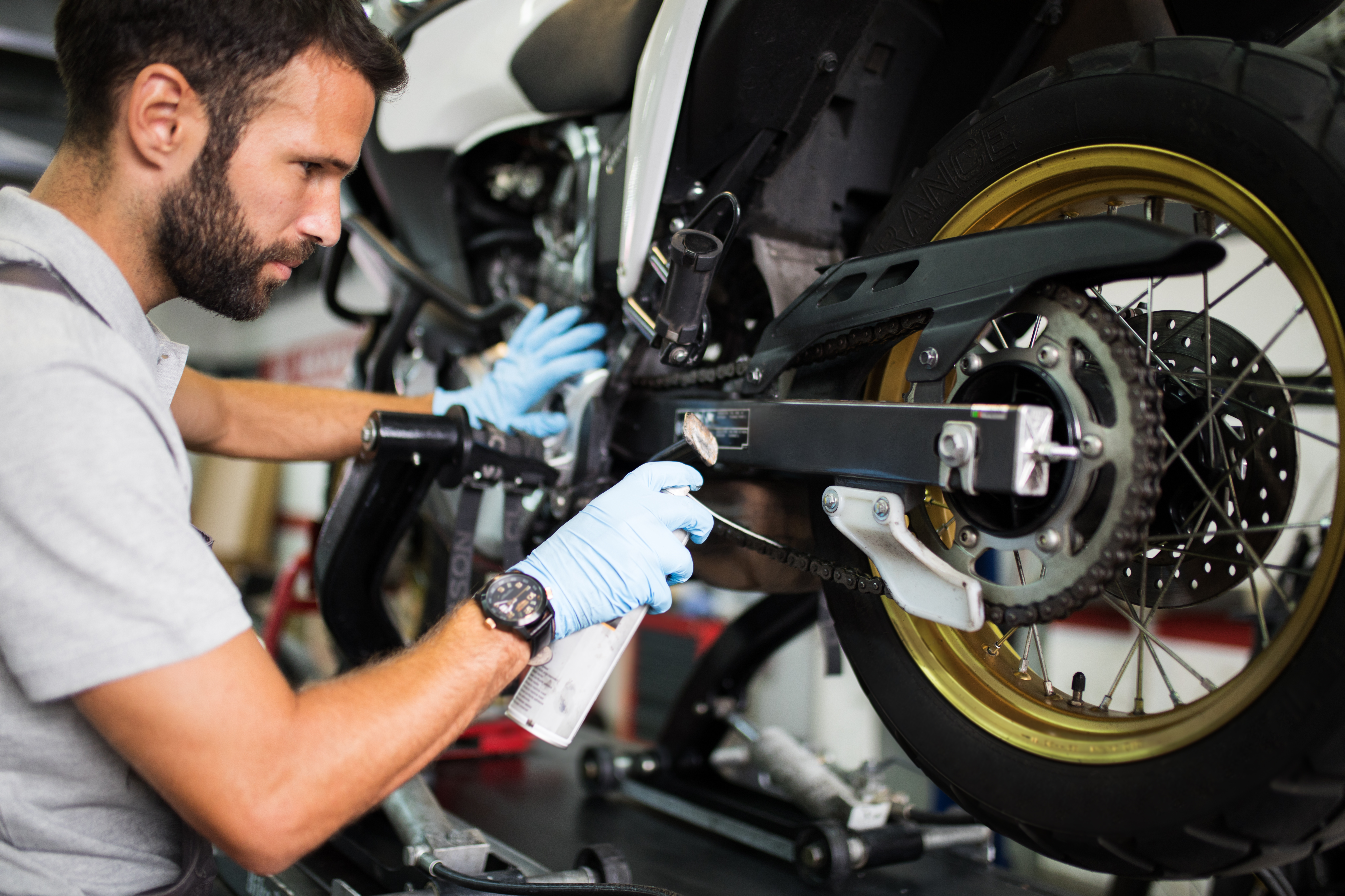 How To Start A Motorcycle Parts Business