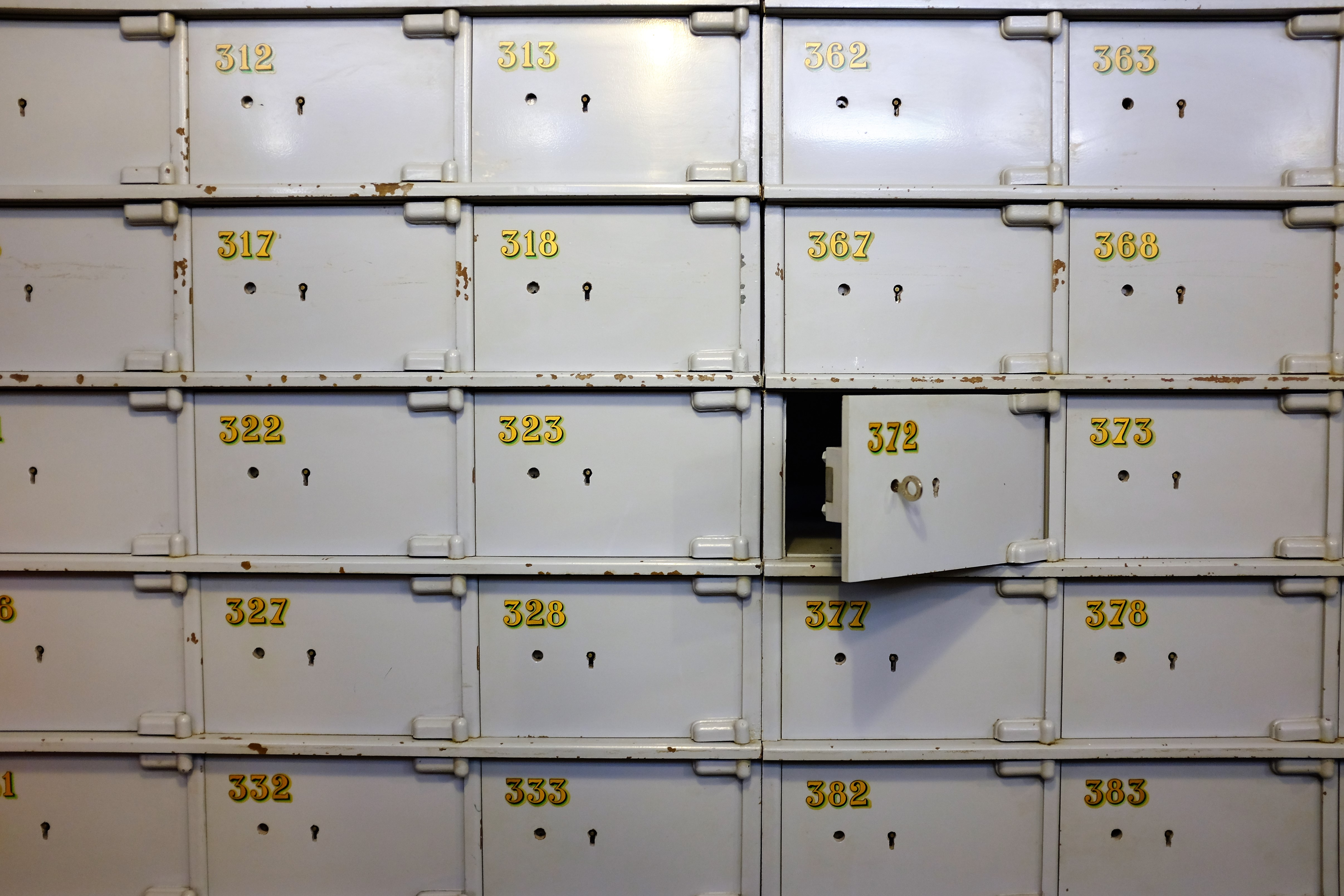 When Do Banks Declare Lock Boxes Abandoned?