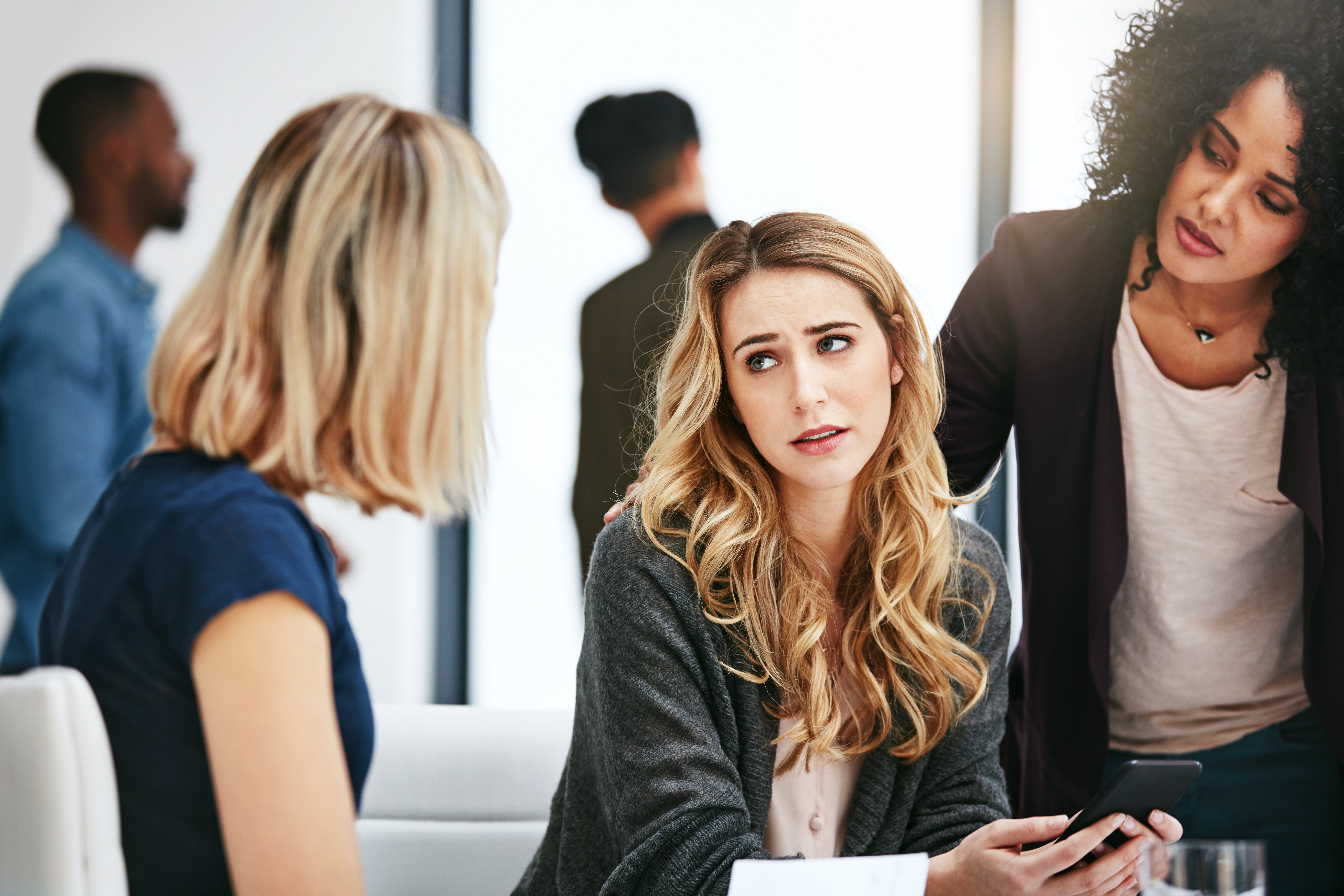 Can Co-Workers Get Fired for a Verbal Fight in the Workplace