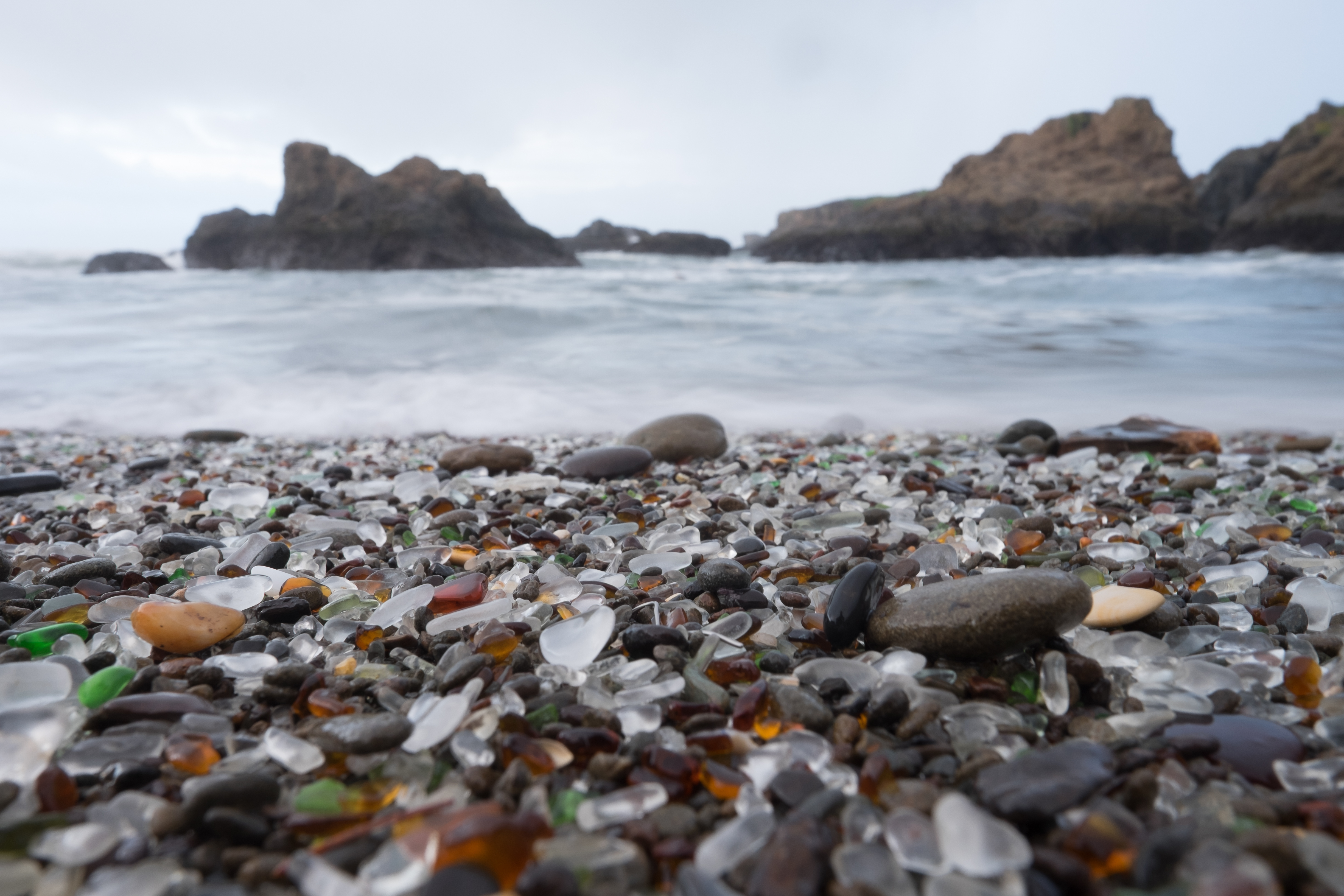 Beaches To Find Sea Glass In Oregon Usa Today