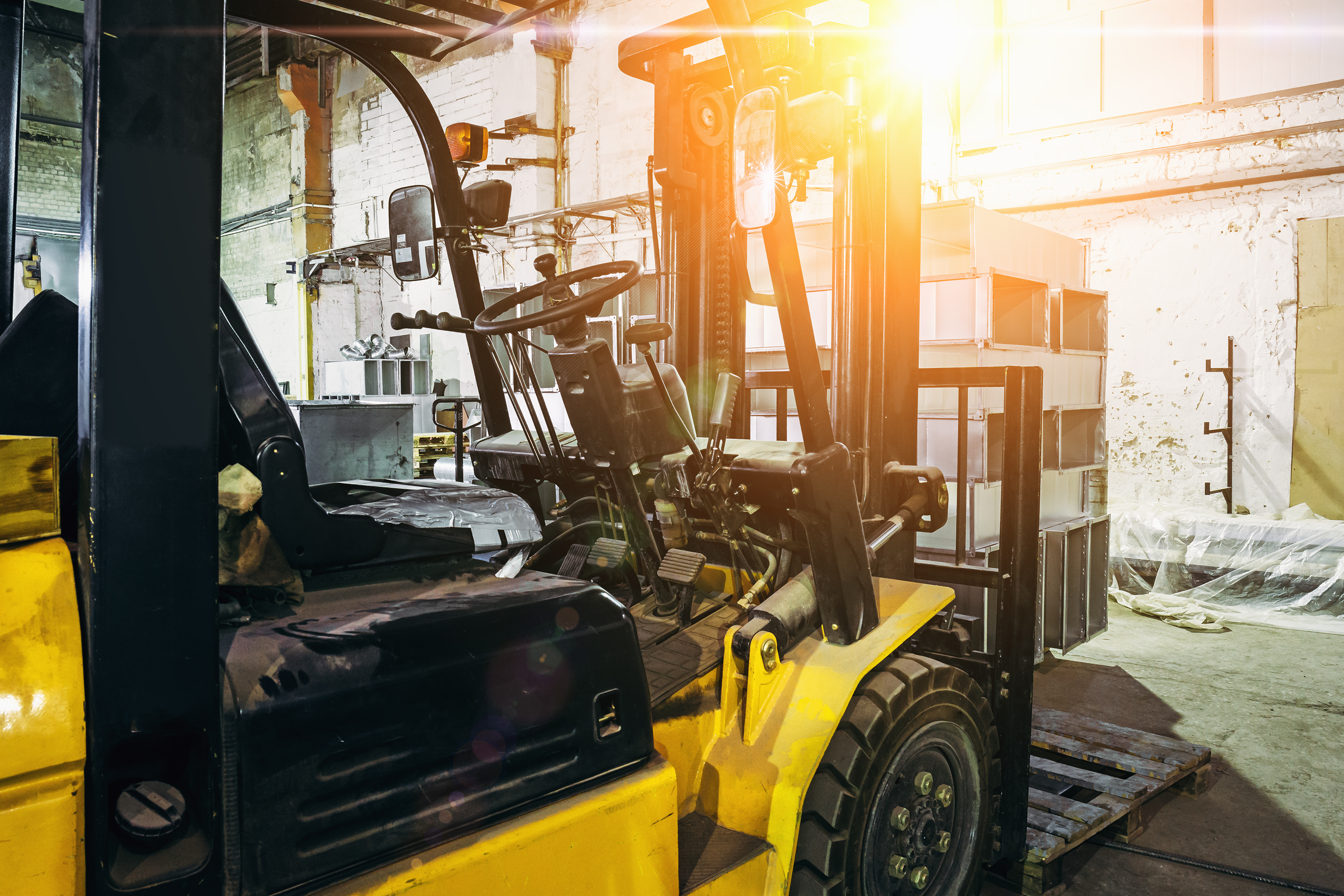 How to Park a Forklift | Career Trend