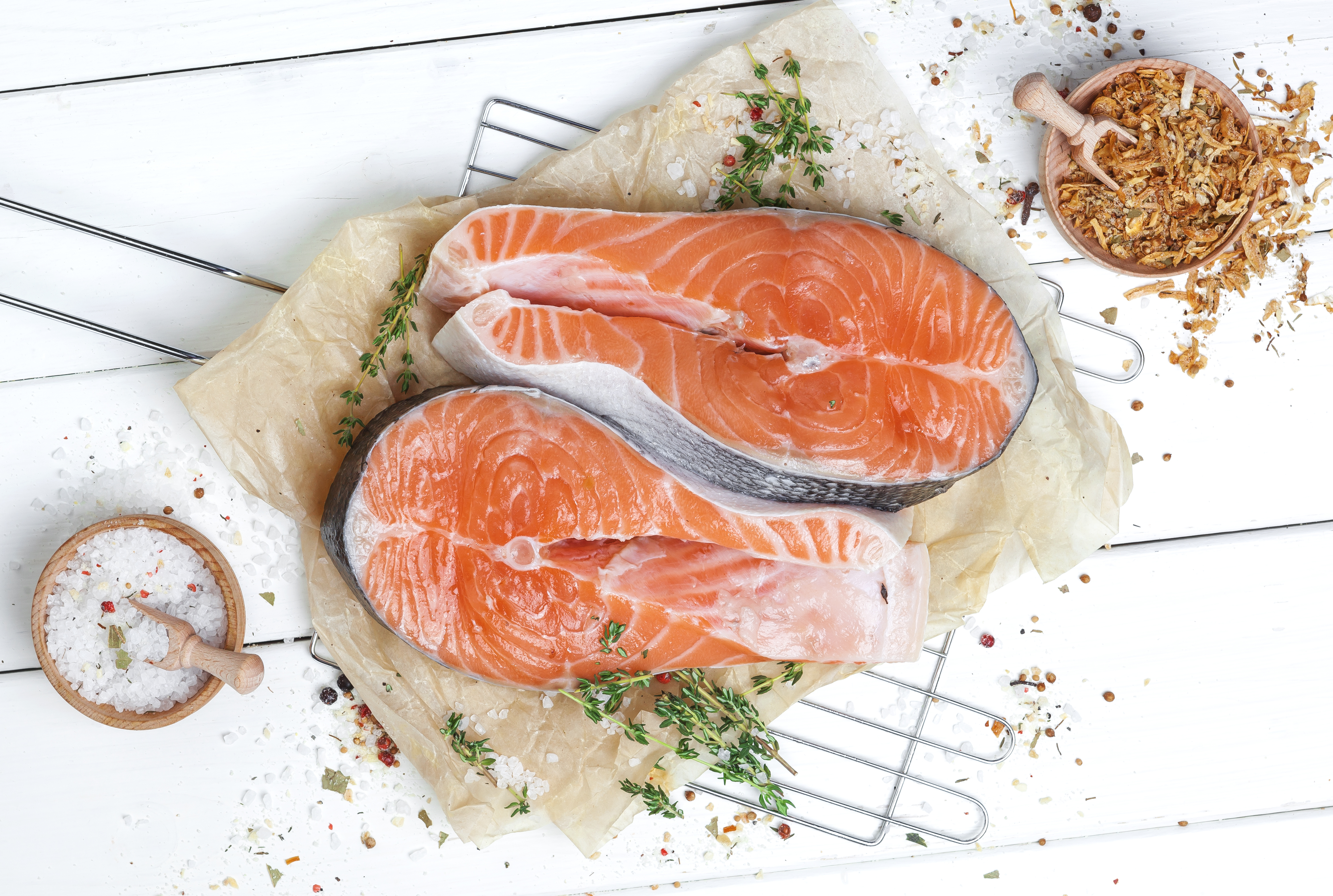 How Many Grams Of Protein Are In Salmon Healthy Eating Sf Gate