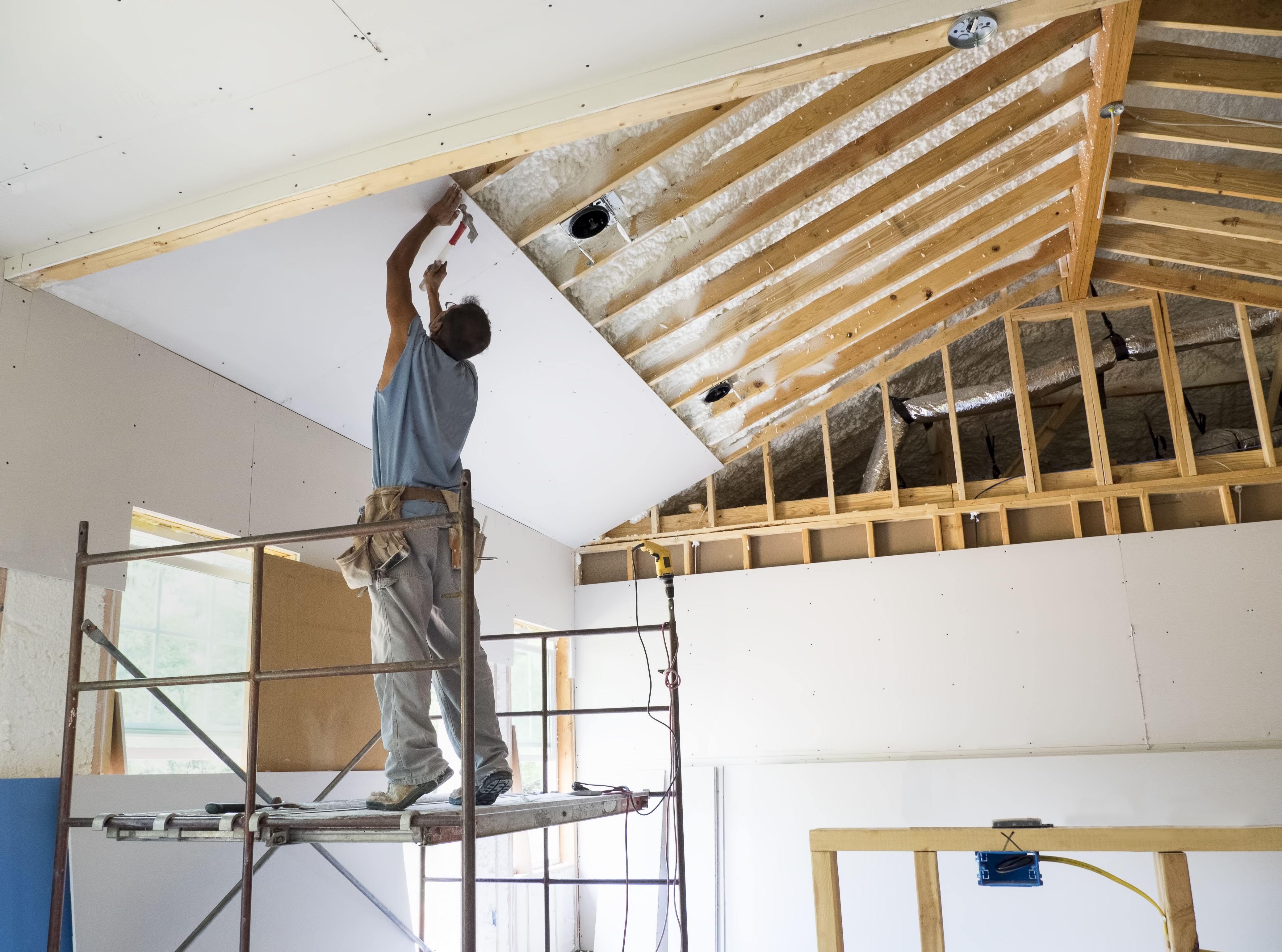 Differences Between Gypsum Board and Plasterboard | Hunker