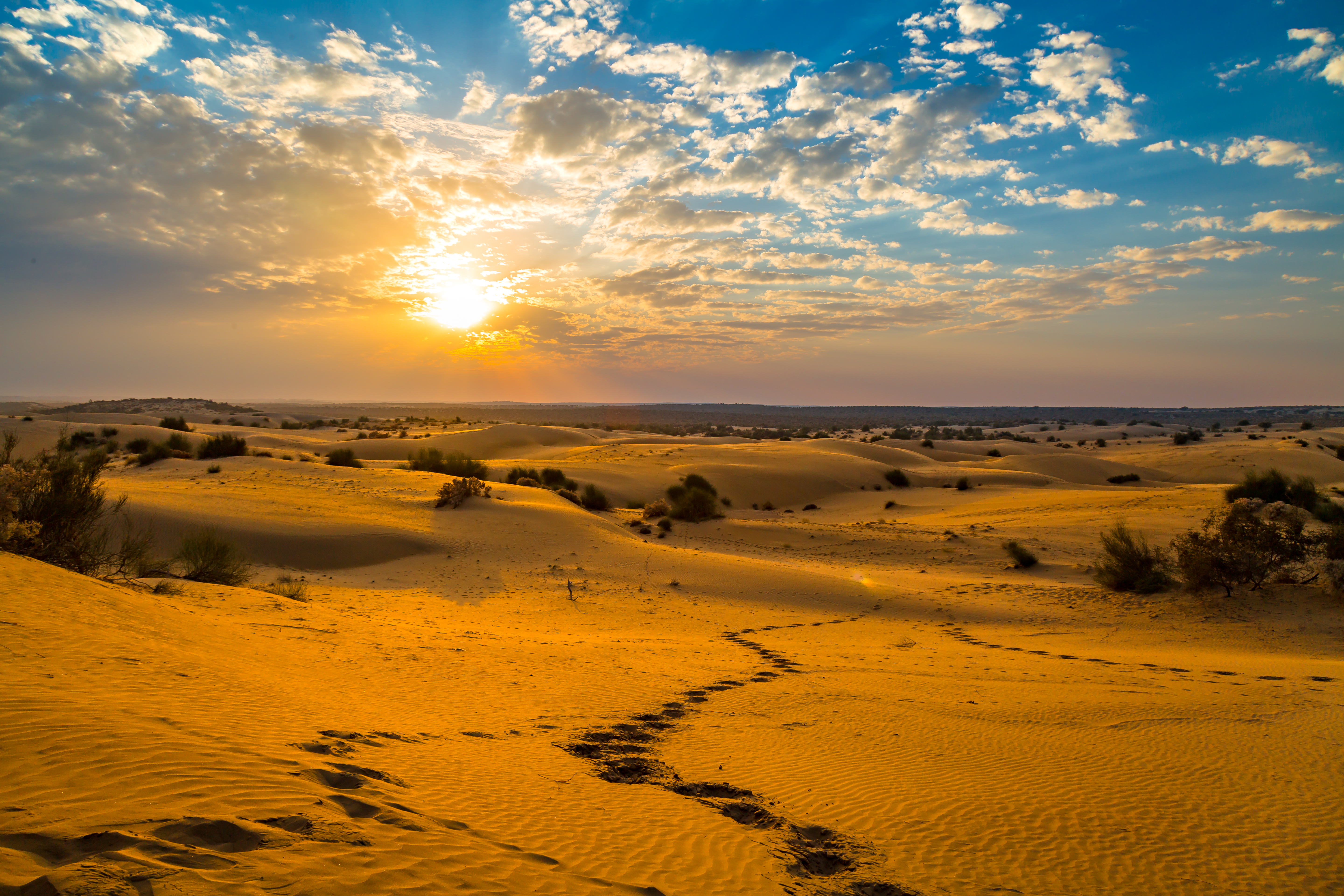 List of Deserts in India