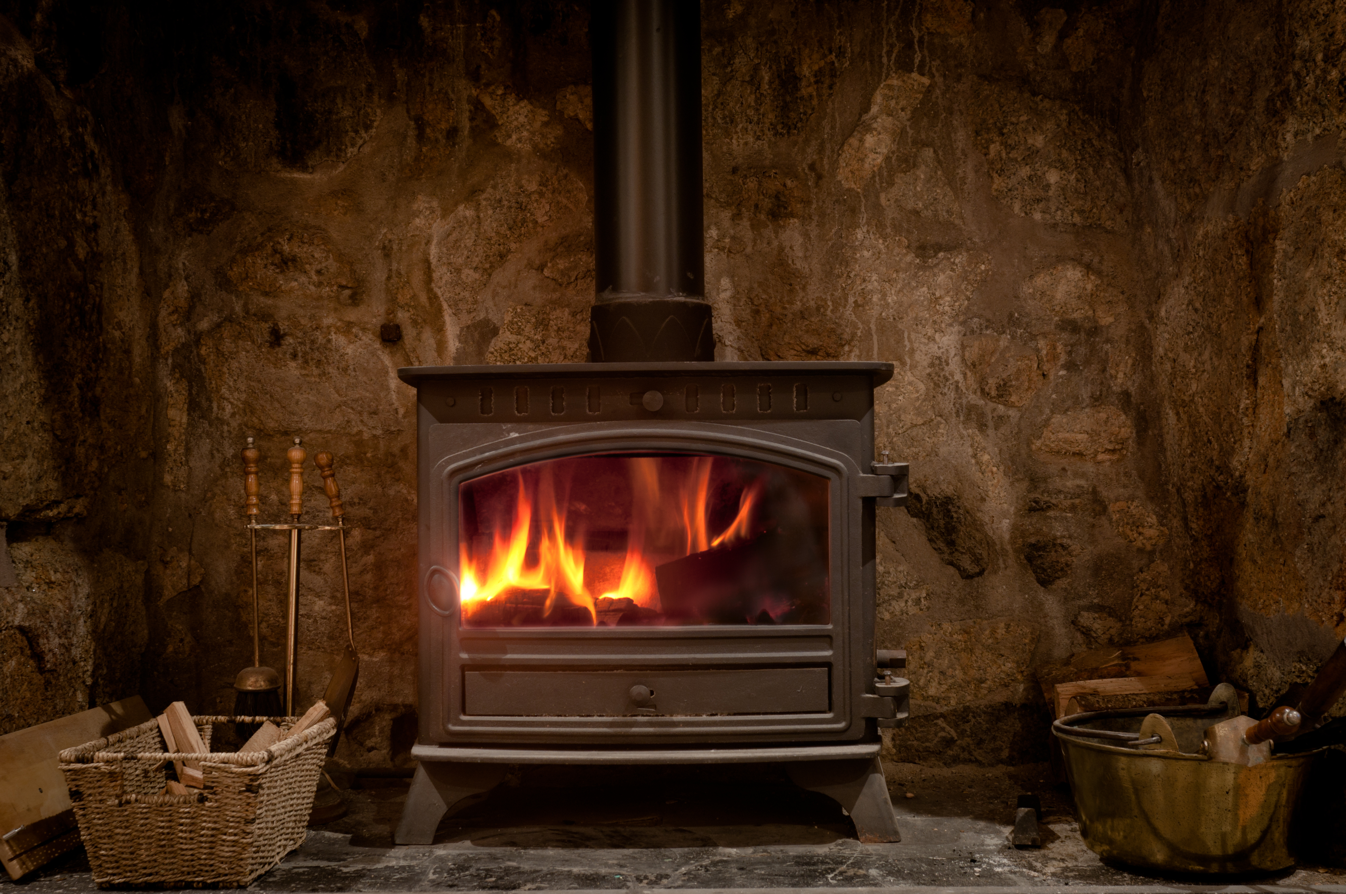 How To Control The Air In A Wood Burning Stove Home Guides Sf Gate