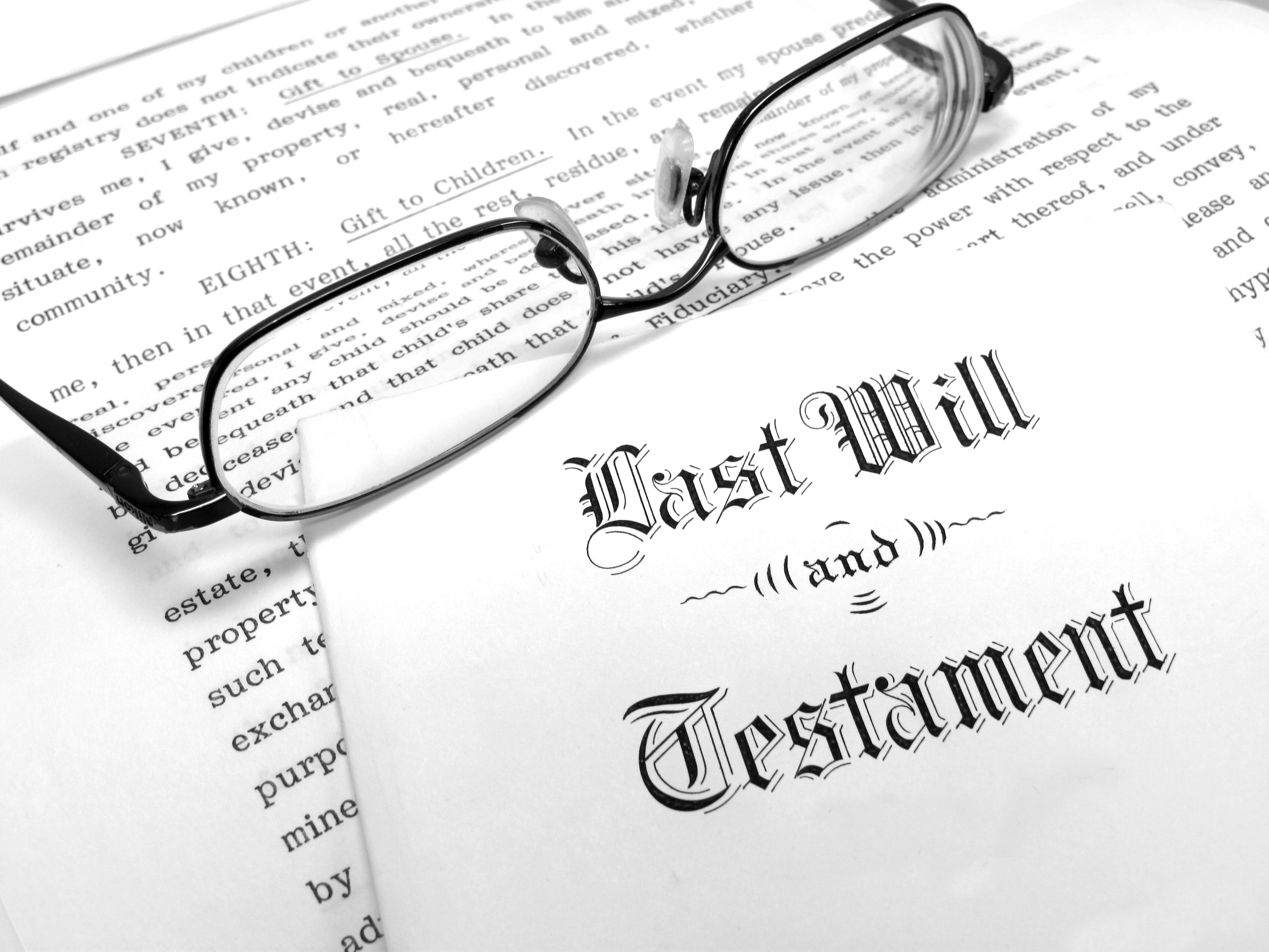 How to Find a Probated Will in Texas