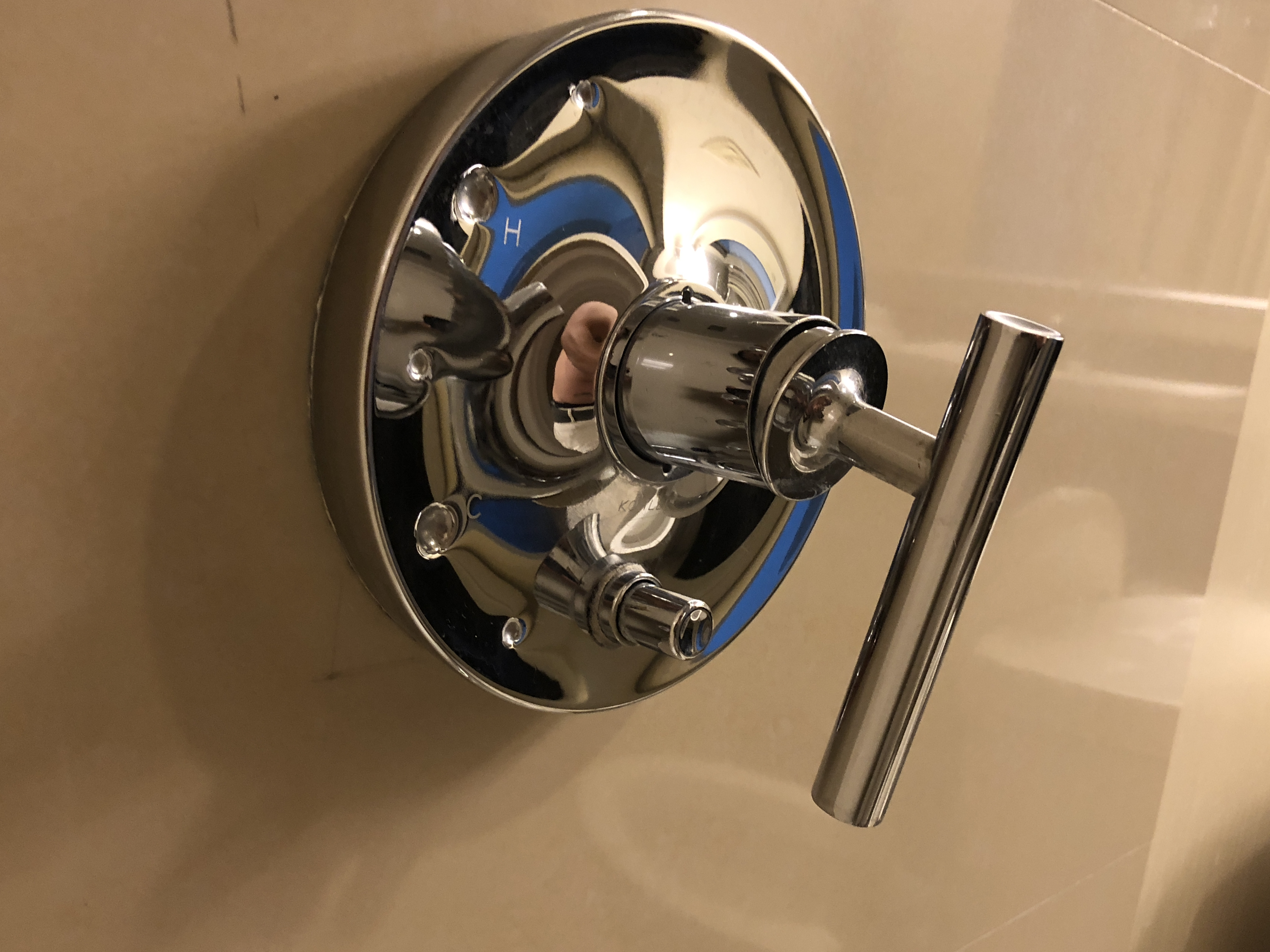 How to Adjust the Mixing Valve for a Single Handle Faucet in ... Ball Handle Mobile Home Shower on mobile home door locks, rv shower handles, contemporary shower handles, mobile home sinks, mobile home faucets, mobile home toilet, mobile home bathroom mirrors, mobile home door handles, mobile home hand rails, hotel shower handles, apartment shower handles, commercial shower handles, residential shower handles, mobile home bathroom accessories,