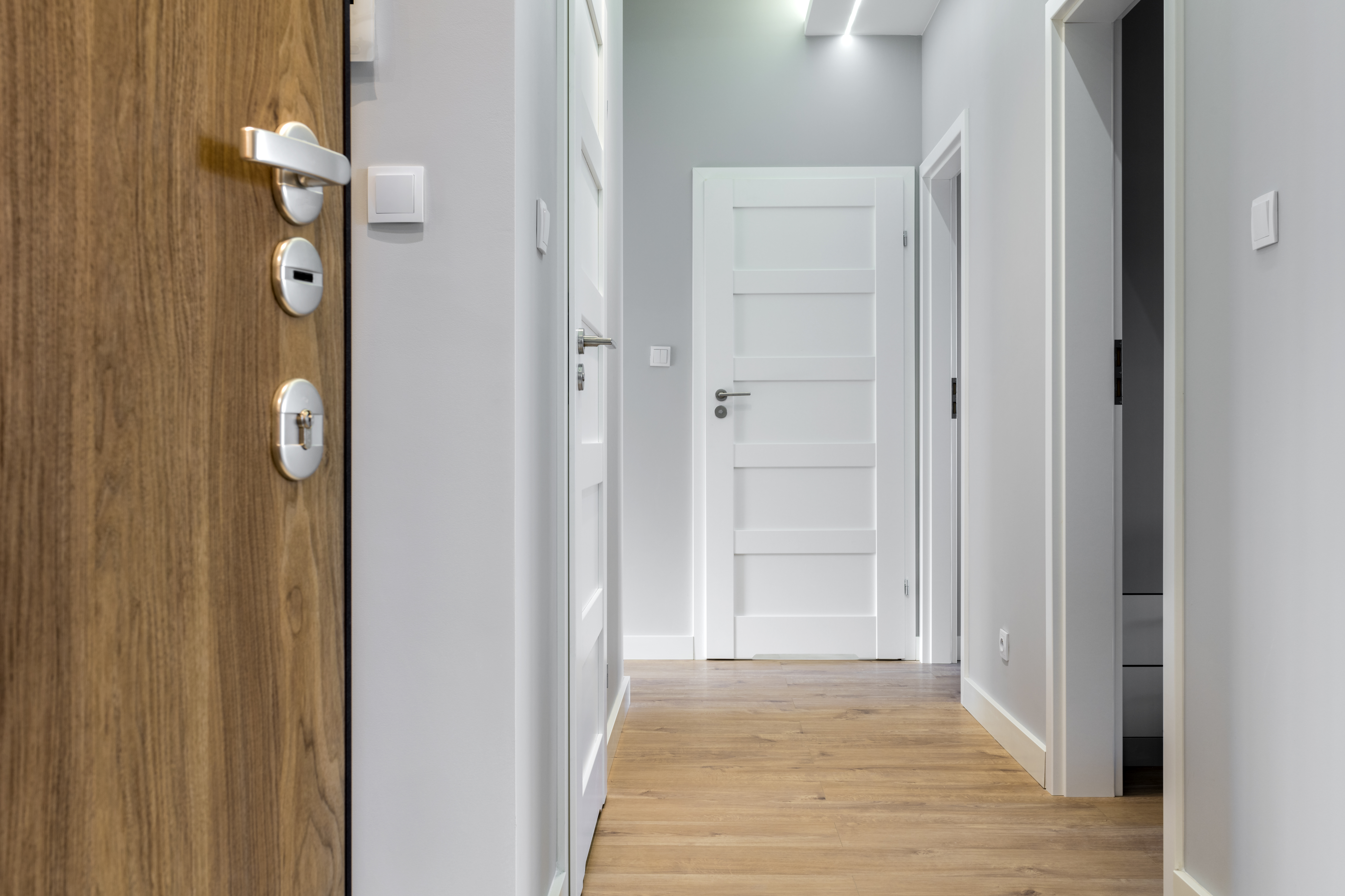 How To Cover A Gap Between The Laminate The Door Casing Home
