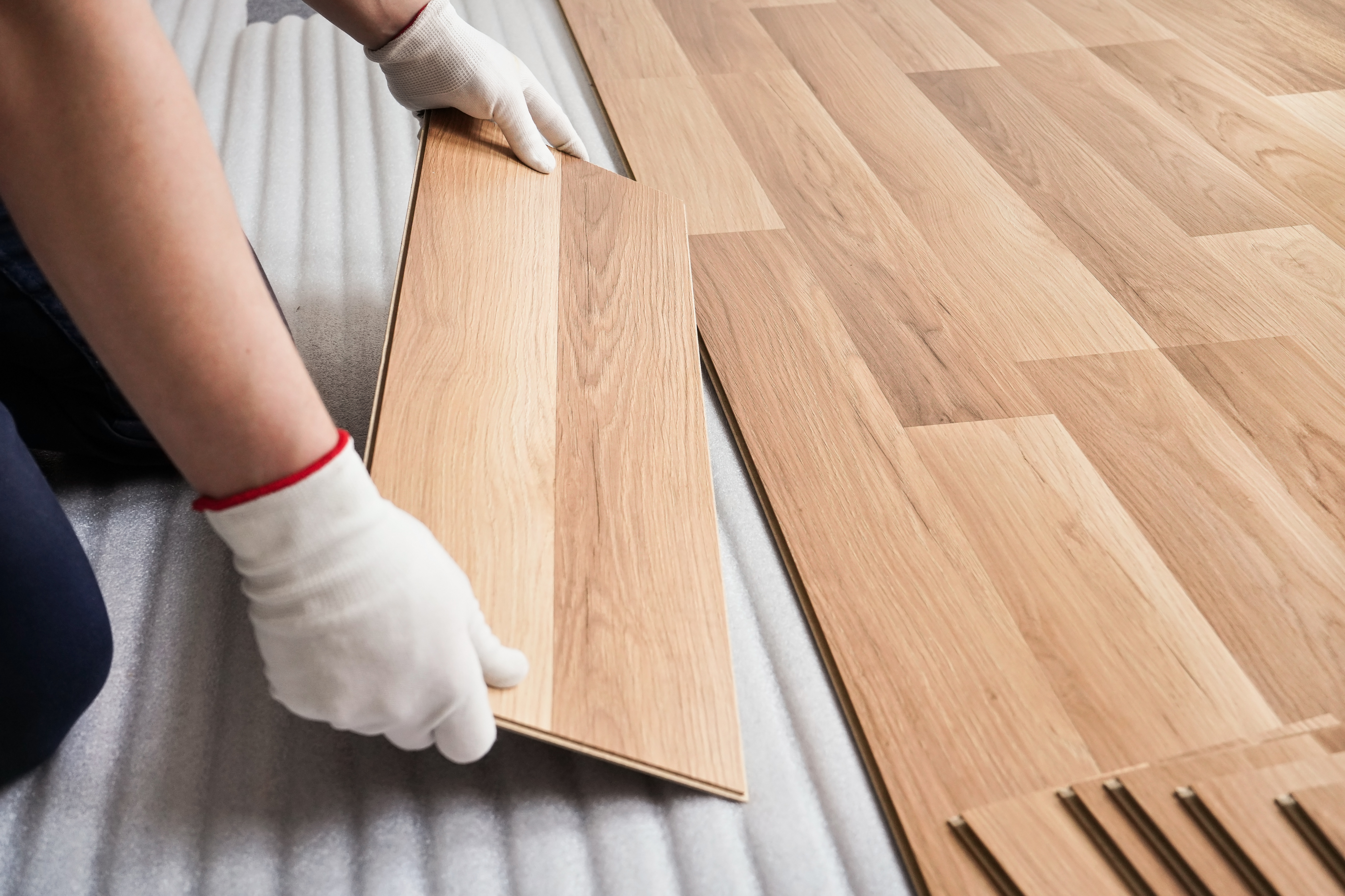 How To Put Laminate Flooring On The Wall Hunker
